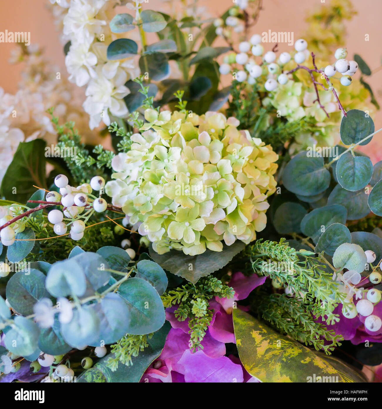 Bunch of white flowers green leaf in glass vase fresh spring stock bunch of white flowers green leaf in glass vase fresh spring bouquet summer background izmirmasajfo Images