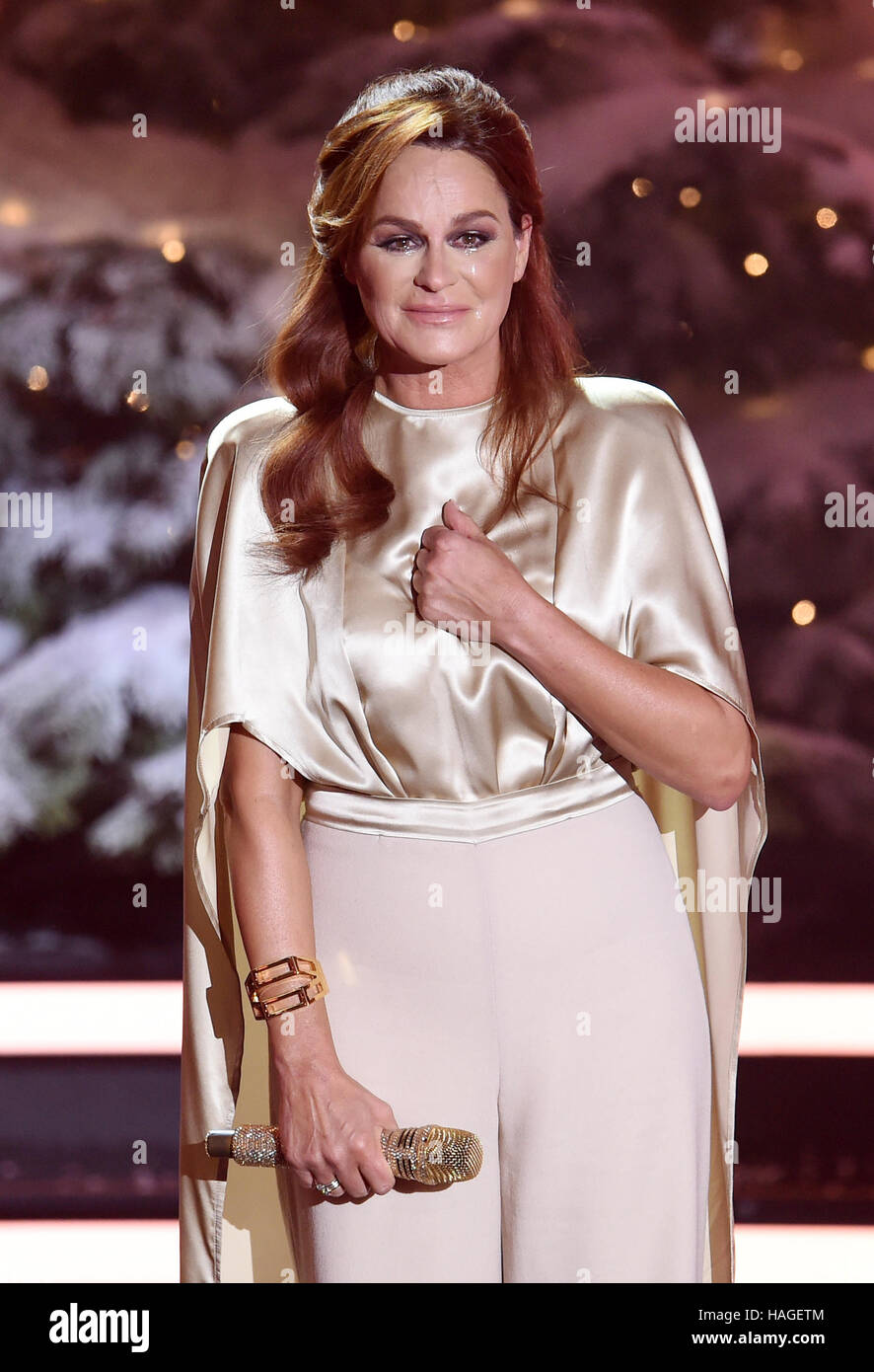 Andrea berg 2016 hd image free - 30th Nov 2016 Tears Run Down The Cheeks Of Singer Andrea Berg After Her Performance On The Tv Show Die Schoensten Weihnachts Hits Lit