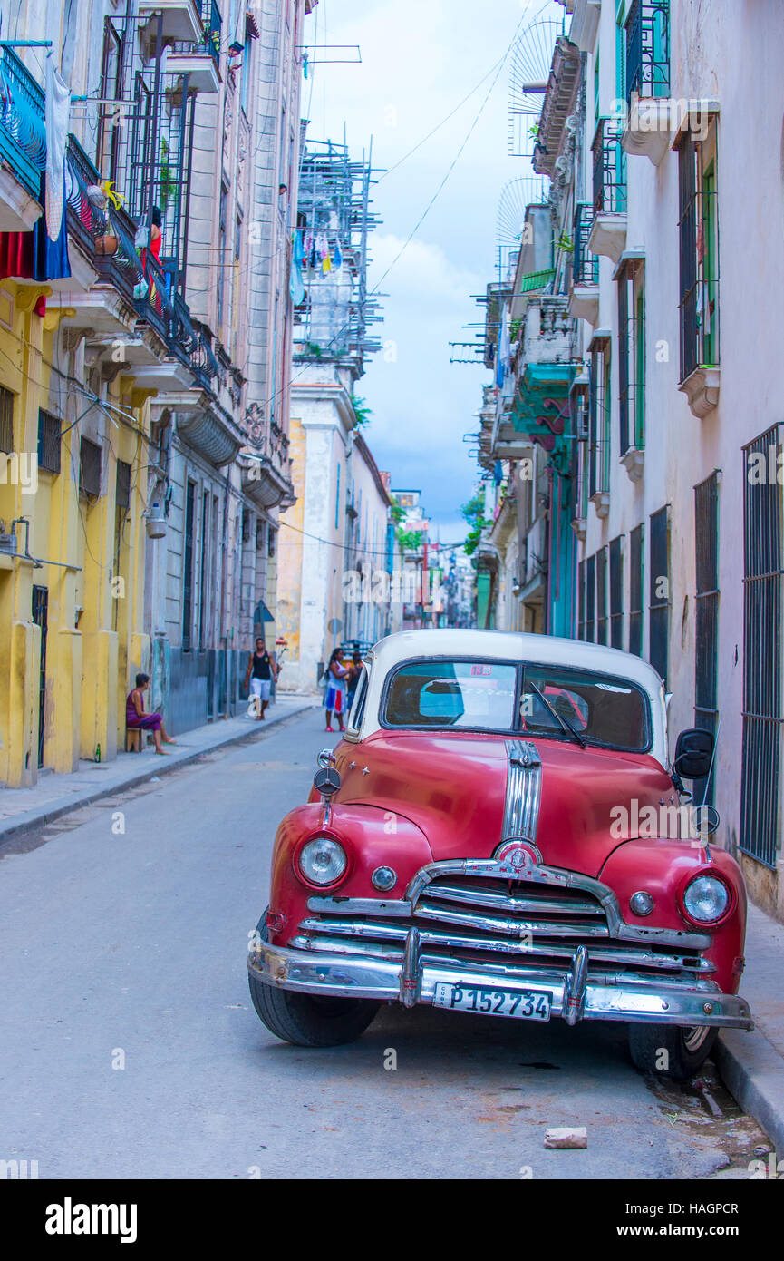 Old Classic American Car On One Of Havanas Cuba Streets There Is - Cool cars for 60000