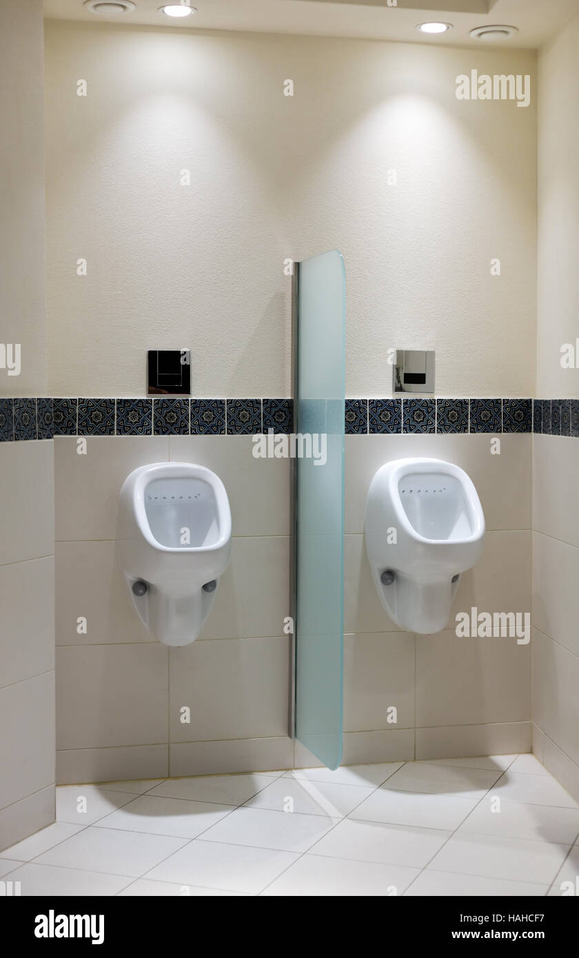 Stock Photo   Urinal In Menu0027s Room Of A Luxury Hotel