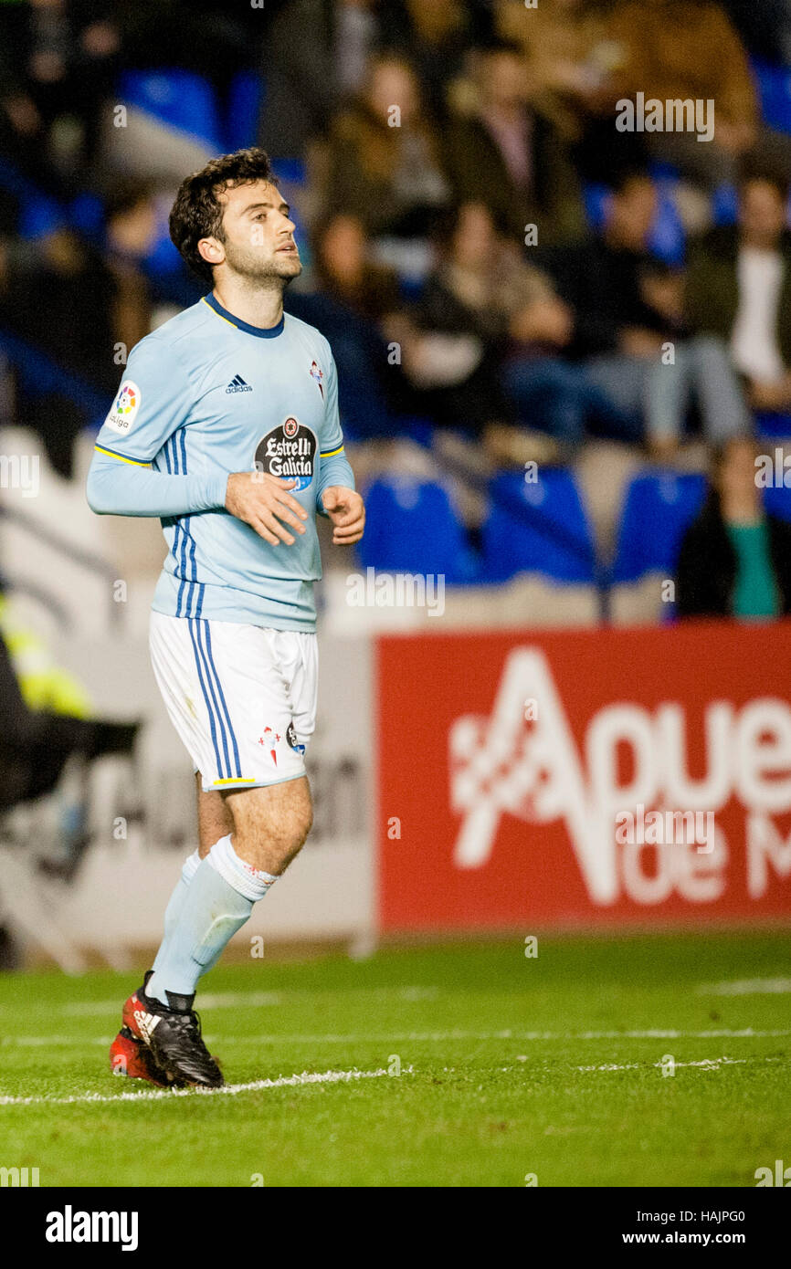 Murcia Spain 30th Nov 2016 Giuseppe Rossi during the match