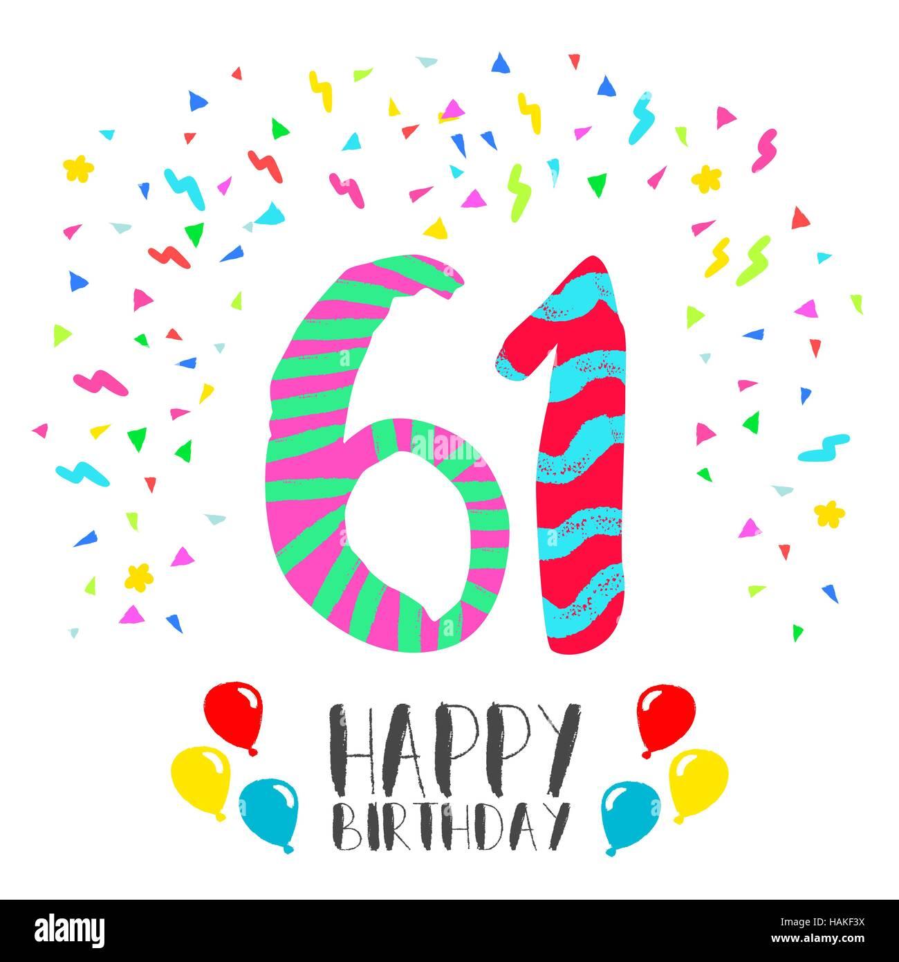 Поздравления с днем рождения в 61 год женщине