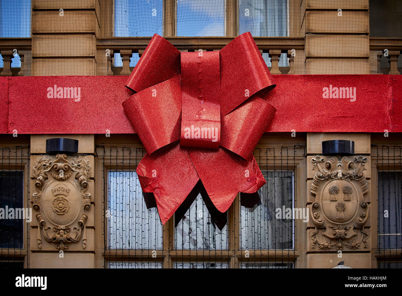 rocco's restaurant manchester christmas bow decoration large stock