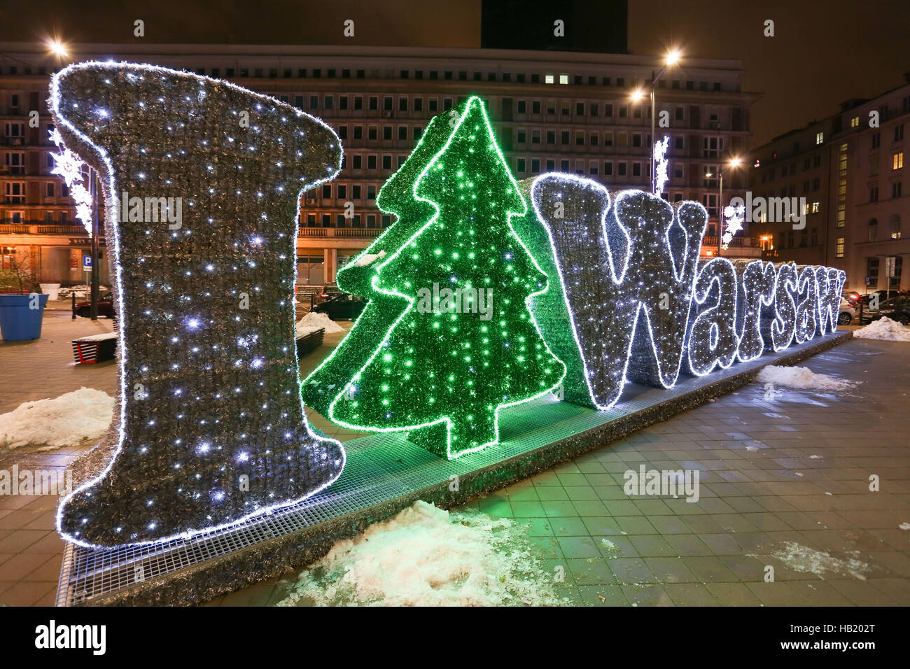 Warsaw, Poland. 3rd Dec, 2016. Warsaw started Christmas season ...