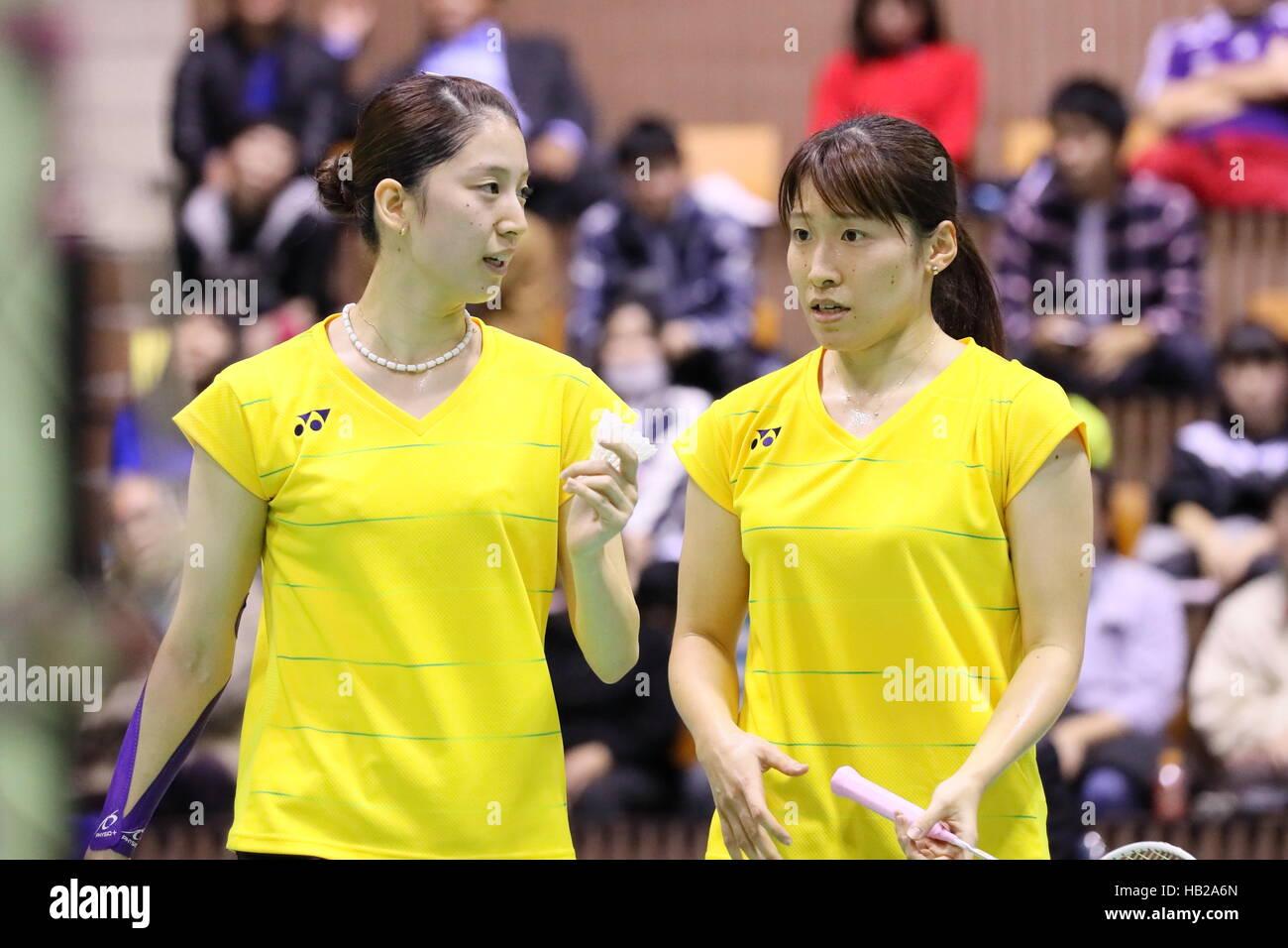 nd Yoyogi Gymnasium Tokyo Japan 4th Dec 2016 Koharu Yonemoto