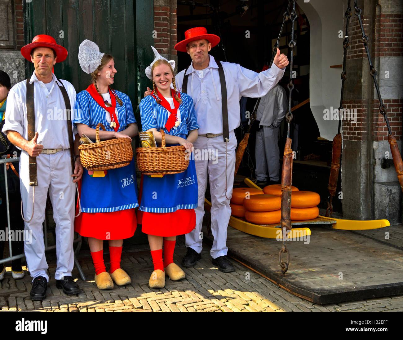 dutch cheese girls kaasmeisje traditional costume