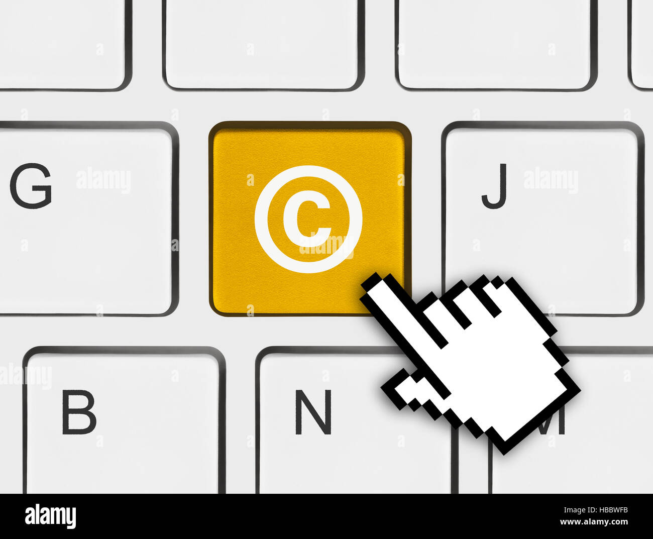 Copyright symbol keyboard gallery symbol and sign ideas computer keyboard with copyright symbol stock photo 127495295 alamy computer keyboard with copyright symbol buycottarizona gallery buycottarizona Images