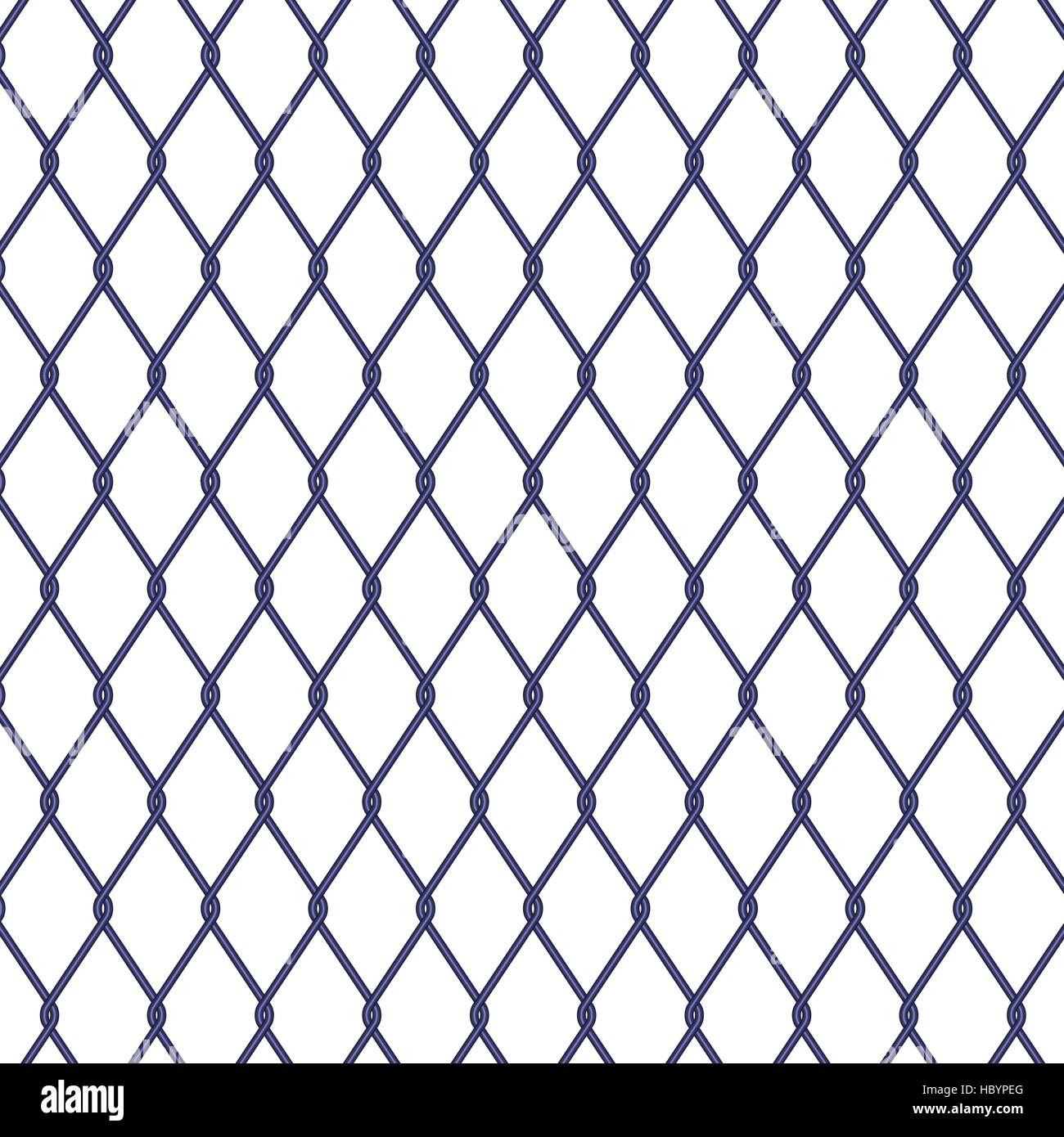 Wire fence on white background, stock vector Stock Vector Art ...