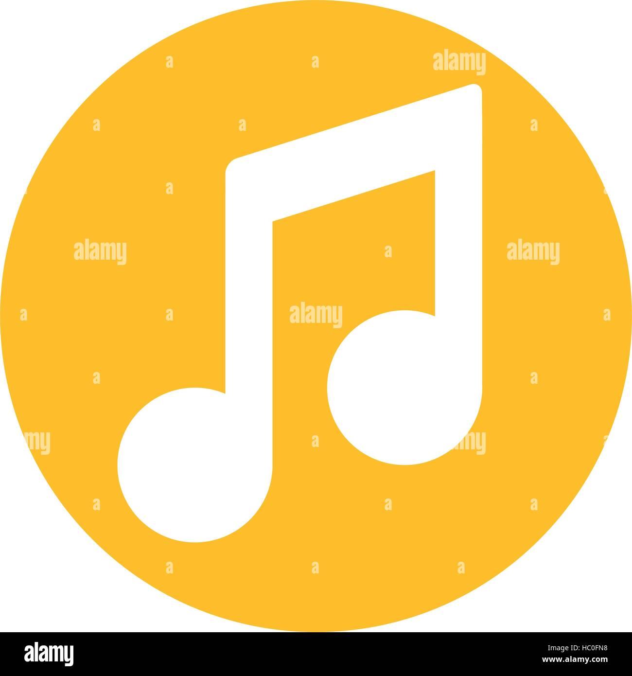 Music note symbol icon vector illustration graphic design stock music note symbol icon vector illustration graphic design biocorpaavc Gallery