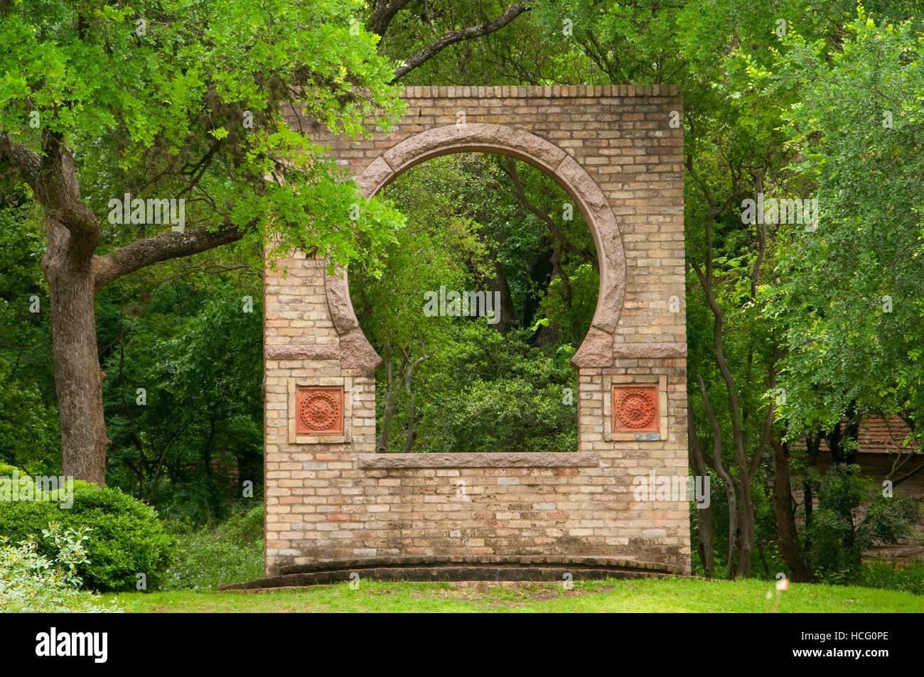 Butler Window, Zilker Botanical Garden, Austin, Texas