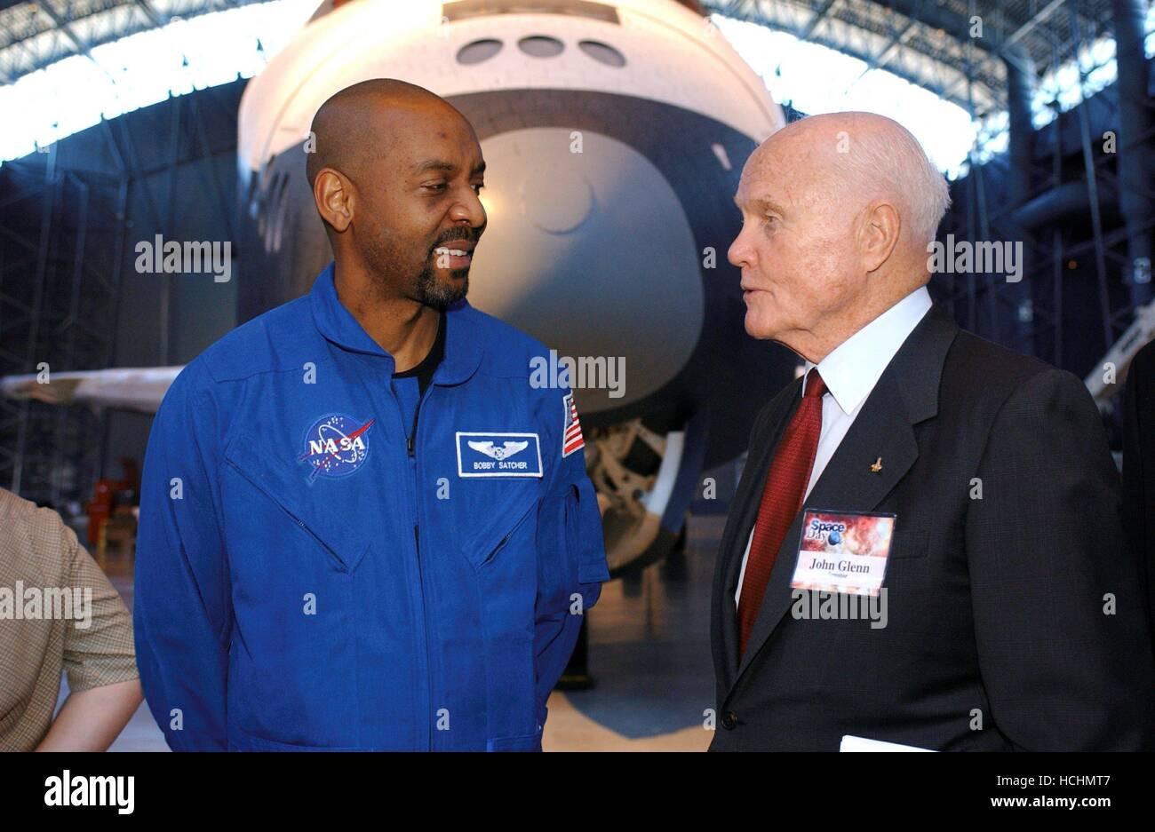 Former astronaut and United States Senator John H. Glenn ...