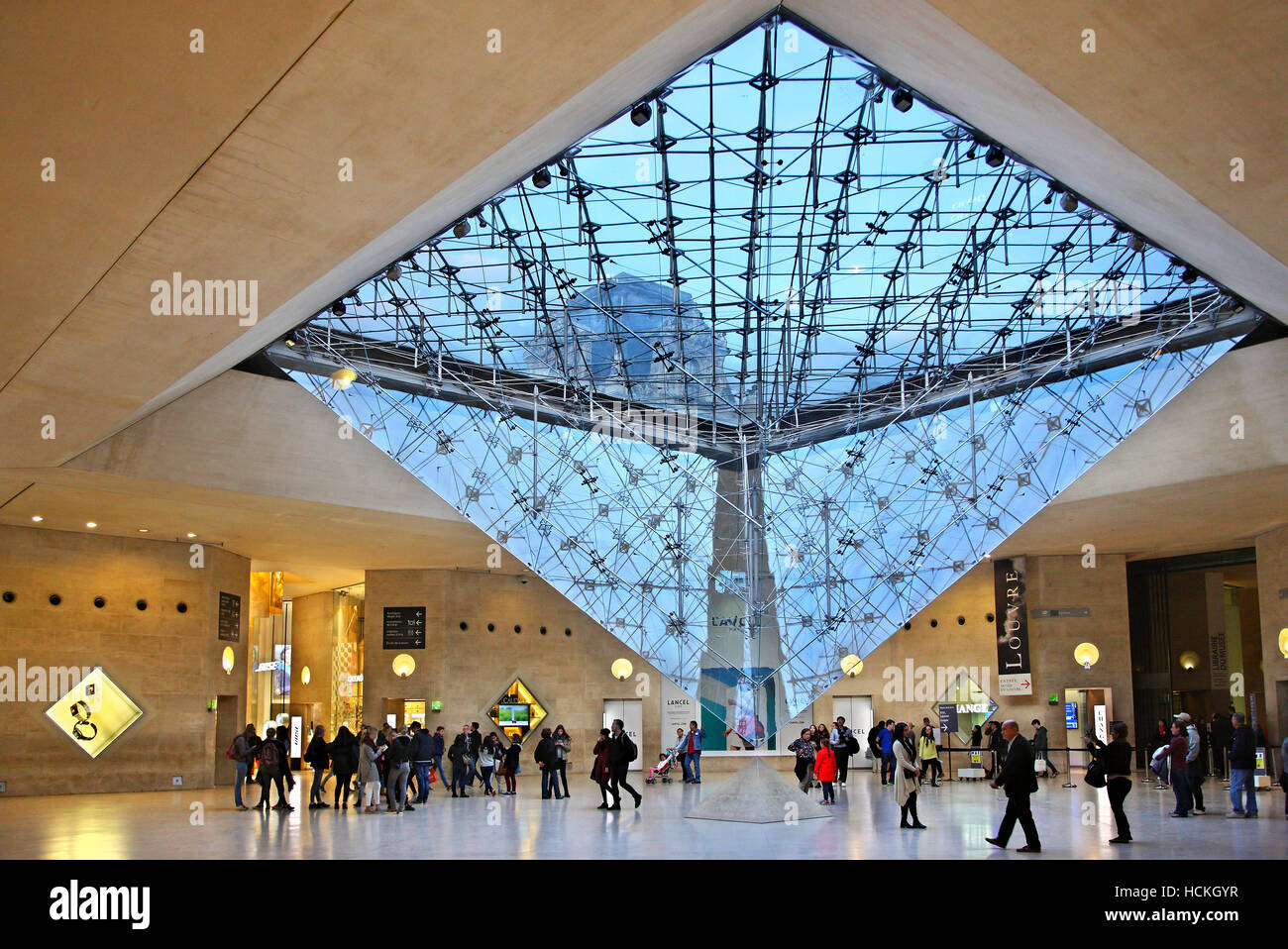 """The """"Carousel du Louvre"""", a shopping center under the ..."""