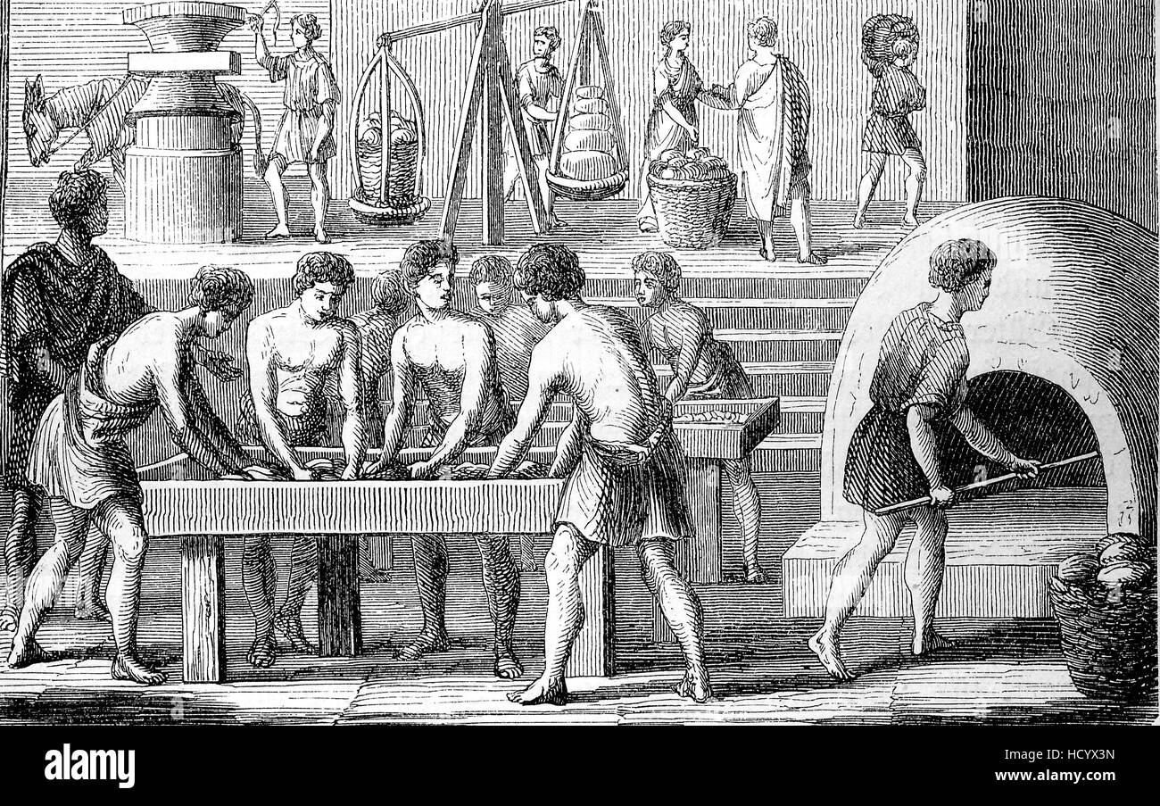 bakery in ancient rome 100 bc the story of the ancient rome