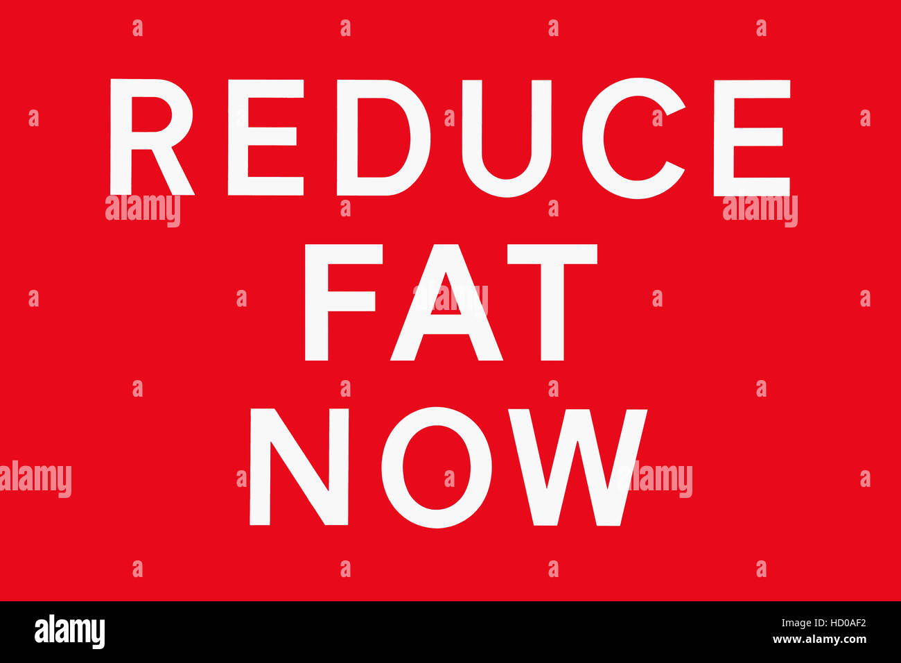 White text on red background reduce fat now symbol for health white text on red background reduce fat now symbol for health risk spoof of road signs in the uk biocorpaavc