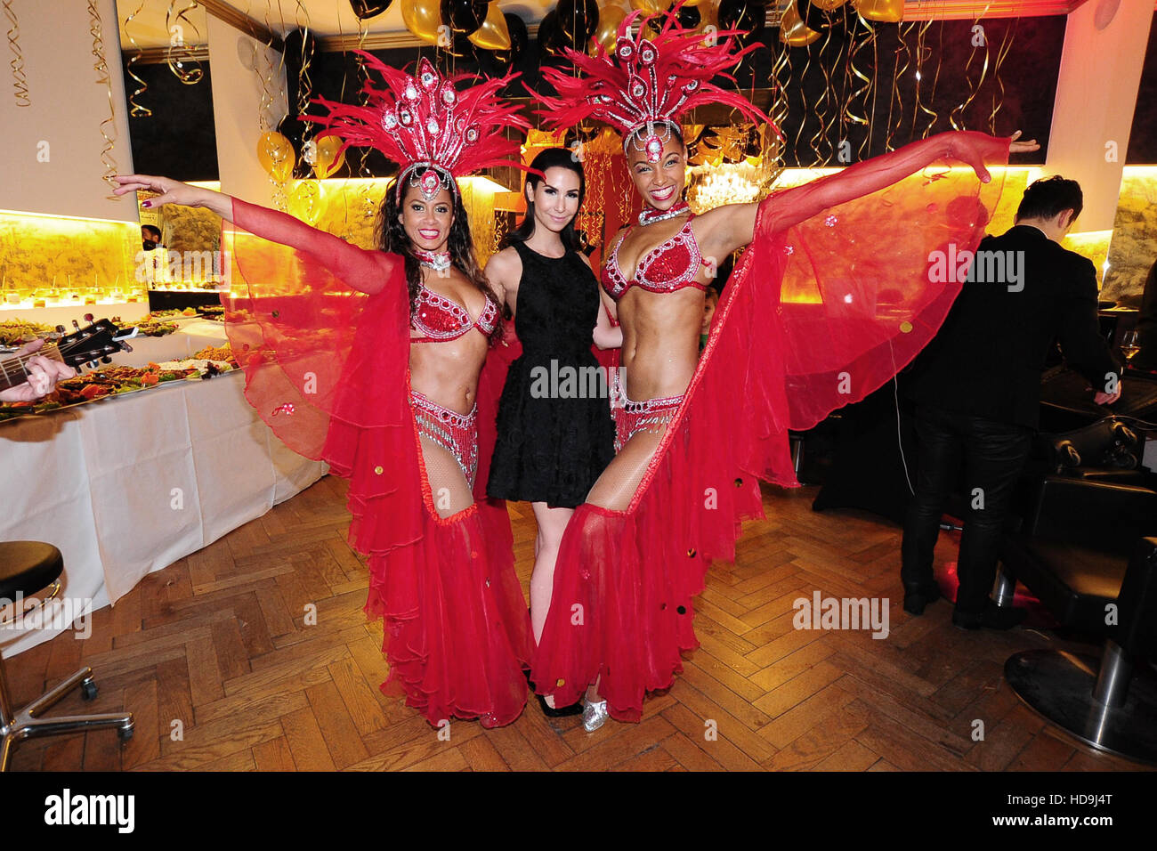 1st anniversary party kokosh hair & beauty salon featuring: sila