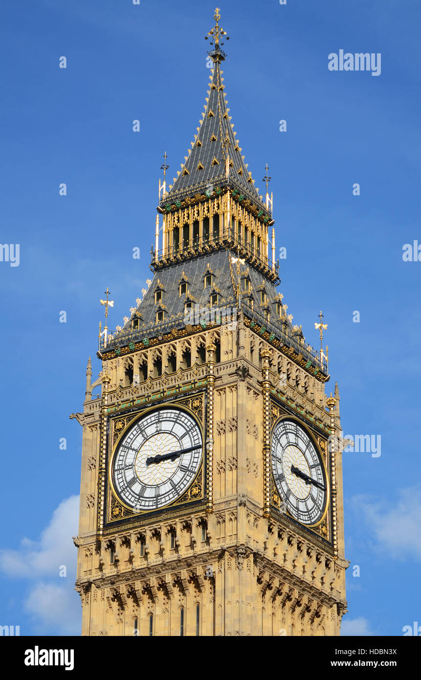 big ben is the nickname for the great bell of the clock at the