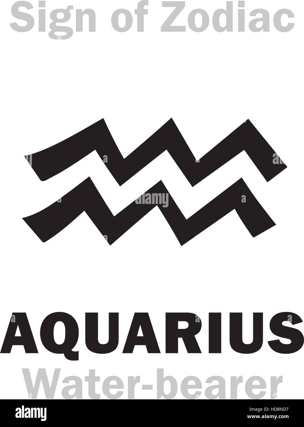 Astrology alphabet sign of zodiac aquarius the water bearer astrology alphabet sign of zodiac aquarius the water bearer hieroglyphics character sign single symbol biocorpaavc Image collections