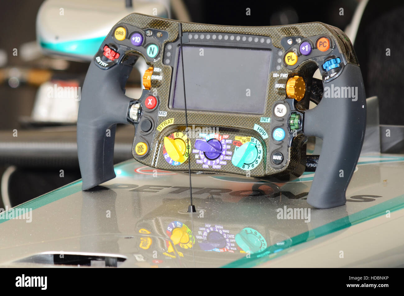 f1 steering wheel stock photos & f1 steering wheel stock images