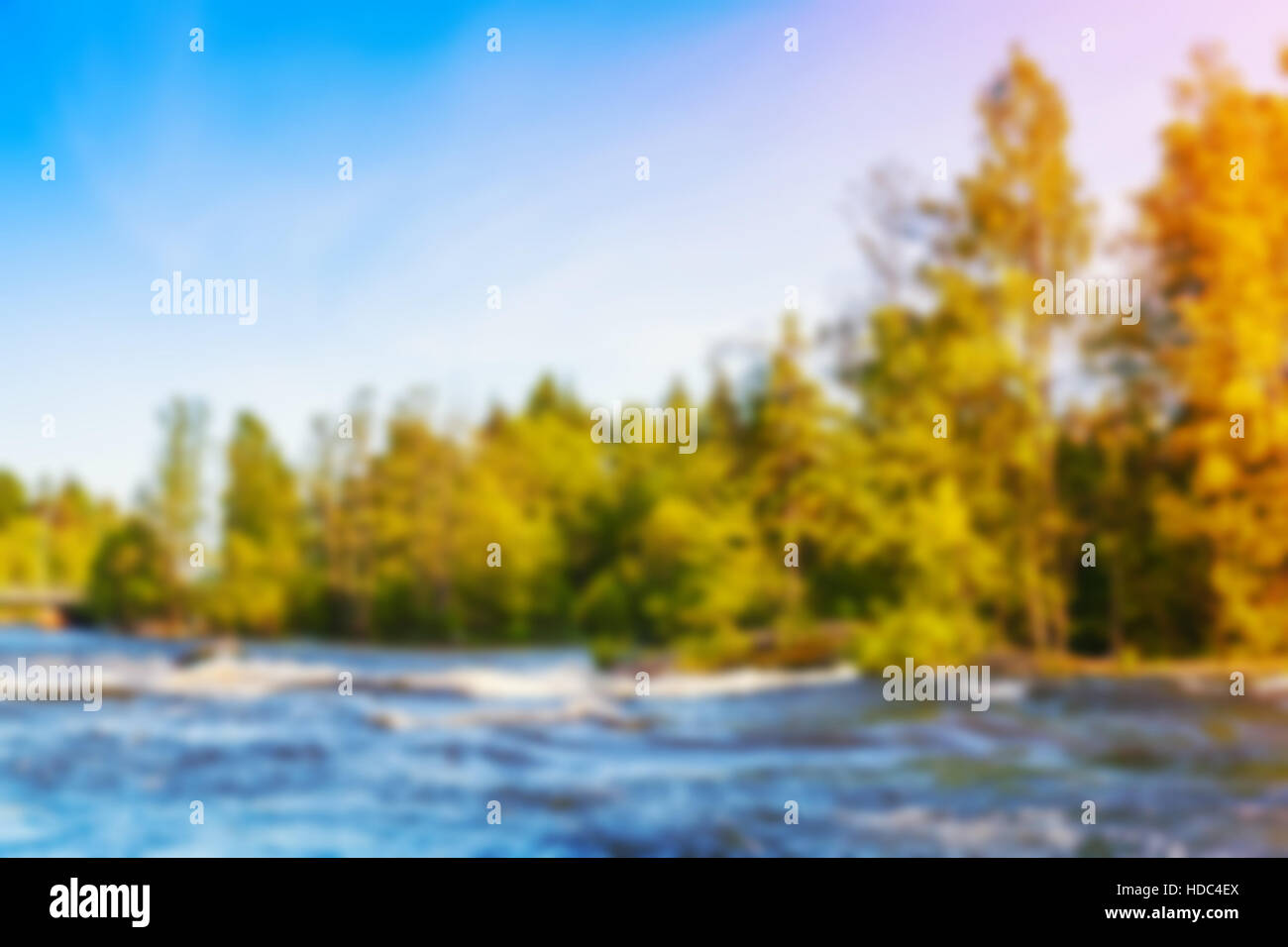 blurred beautiful natural landscape - photo #37
