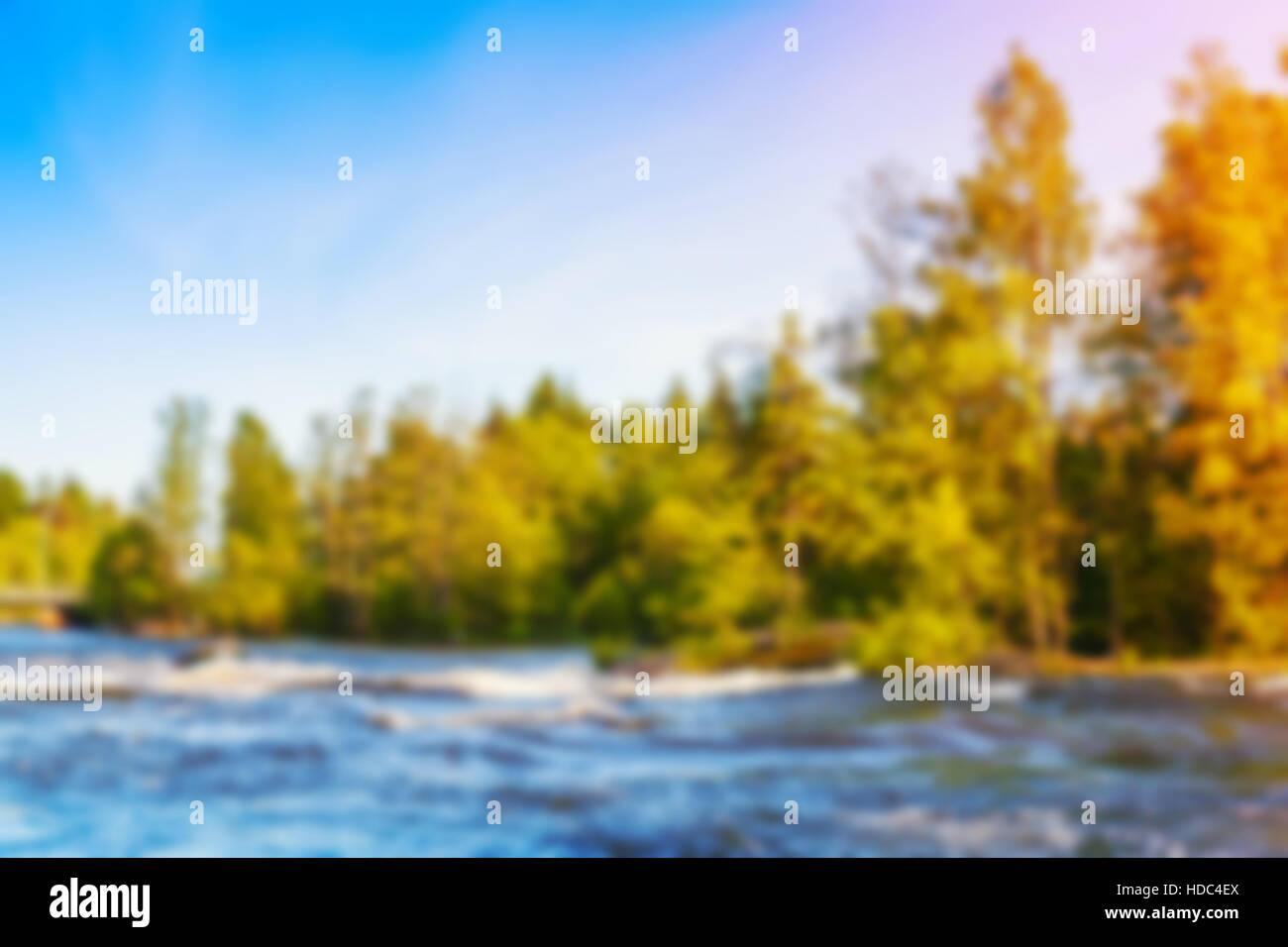 blurred beautiful natural landscape - photo #37