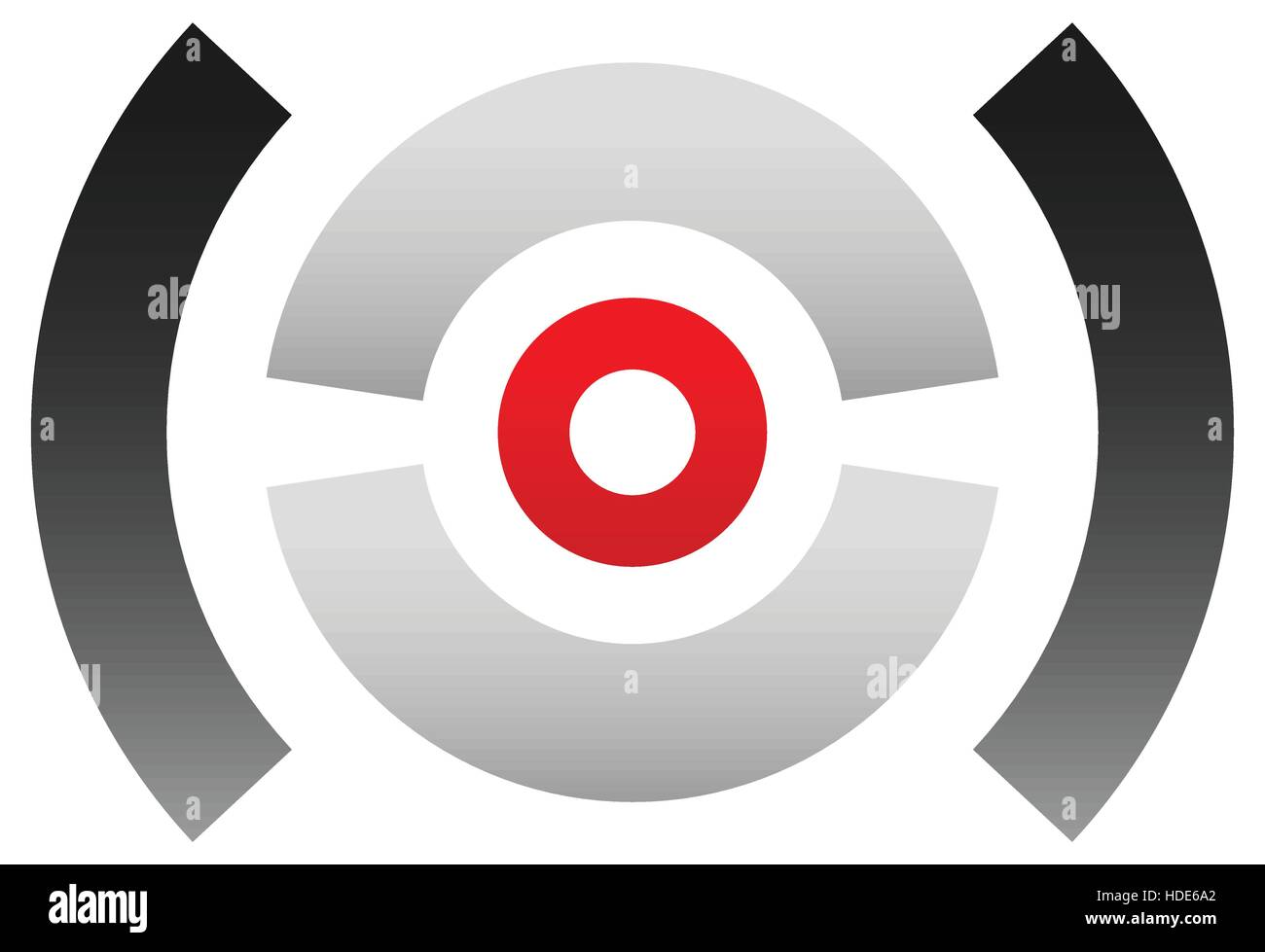 Crosshair icon target symbol pinpoint bullseye sign concentric crosshair icon target symbol pinpoint bullseye sign concentric segmented circles with red dot at center buycottarizona