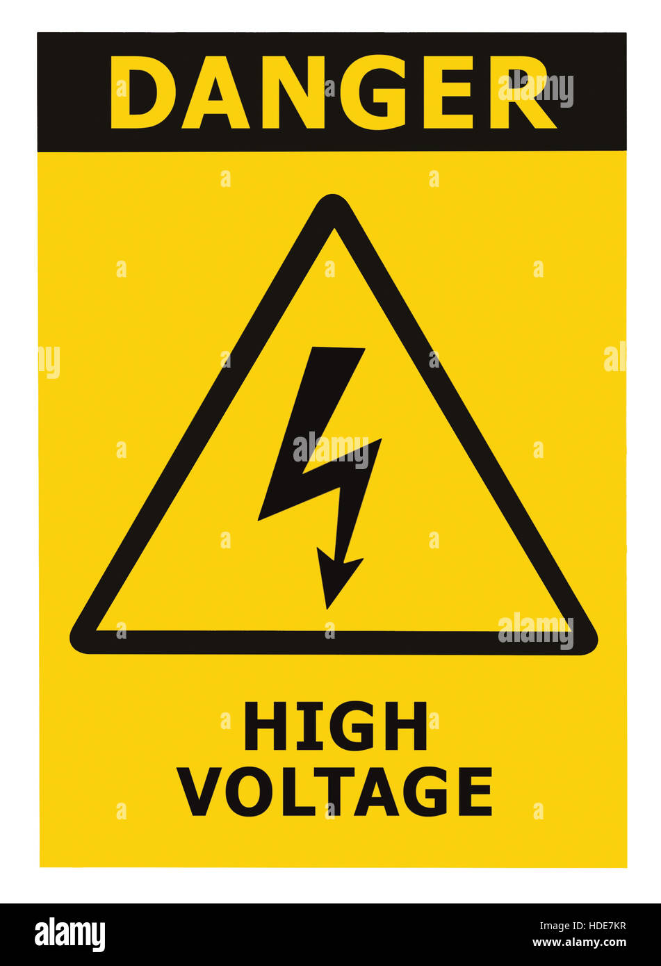 High voltage sign stock photos high voltage sign stock images alamy danger high voltage sign label text isolated large detailed closeup stock image buycottarizona Images