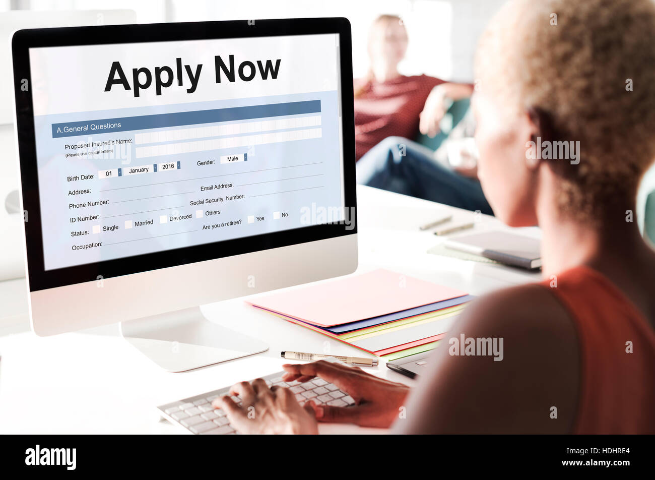 apply online application form recruitment concept stock photo apply online application form recruitment concept