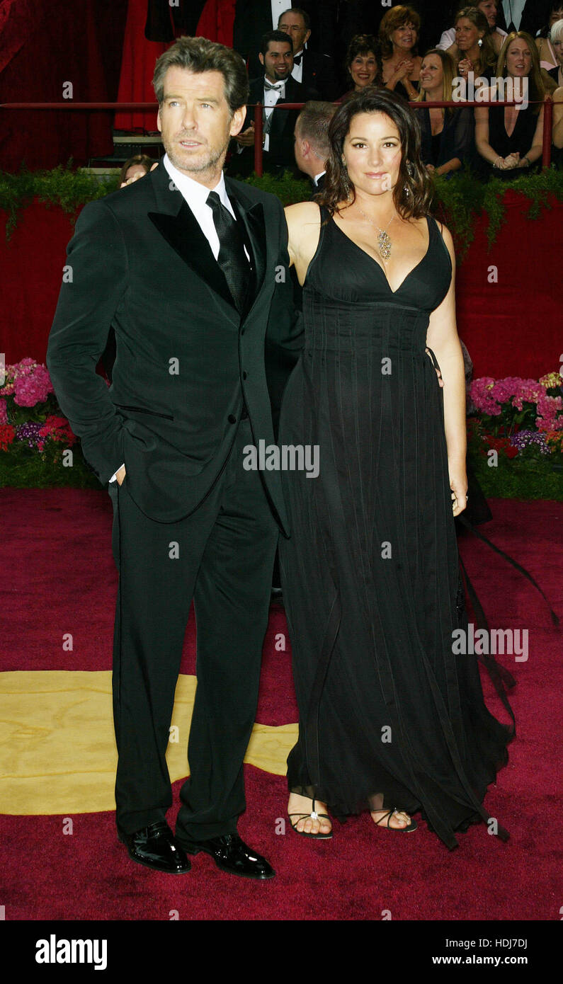 Pierce Brosnan And His Wife Keely Shaye Smith At The