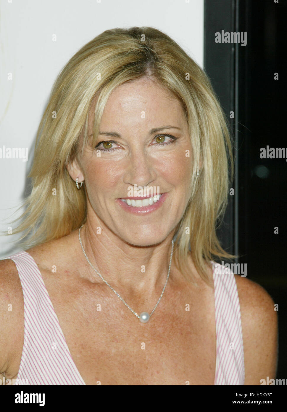 Former Wimbledon champion Chris Evert at the premiere of