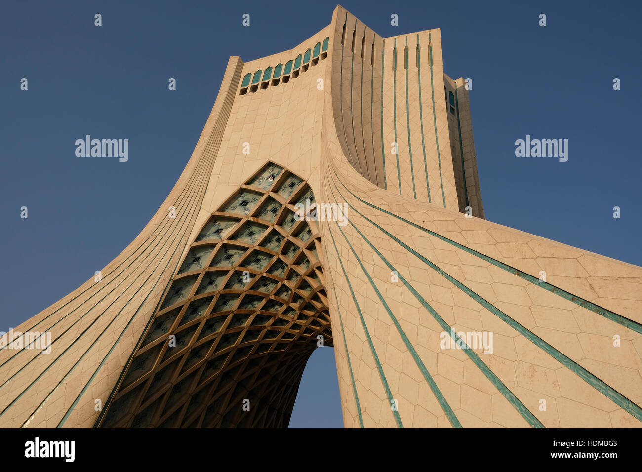 The Azadi Tower or Freedom Tower, is in Azadi Square, Tehran Stock ...