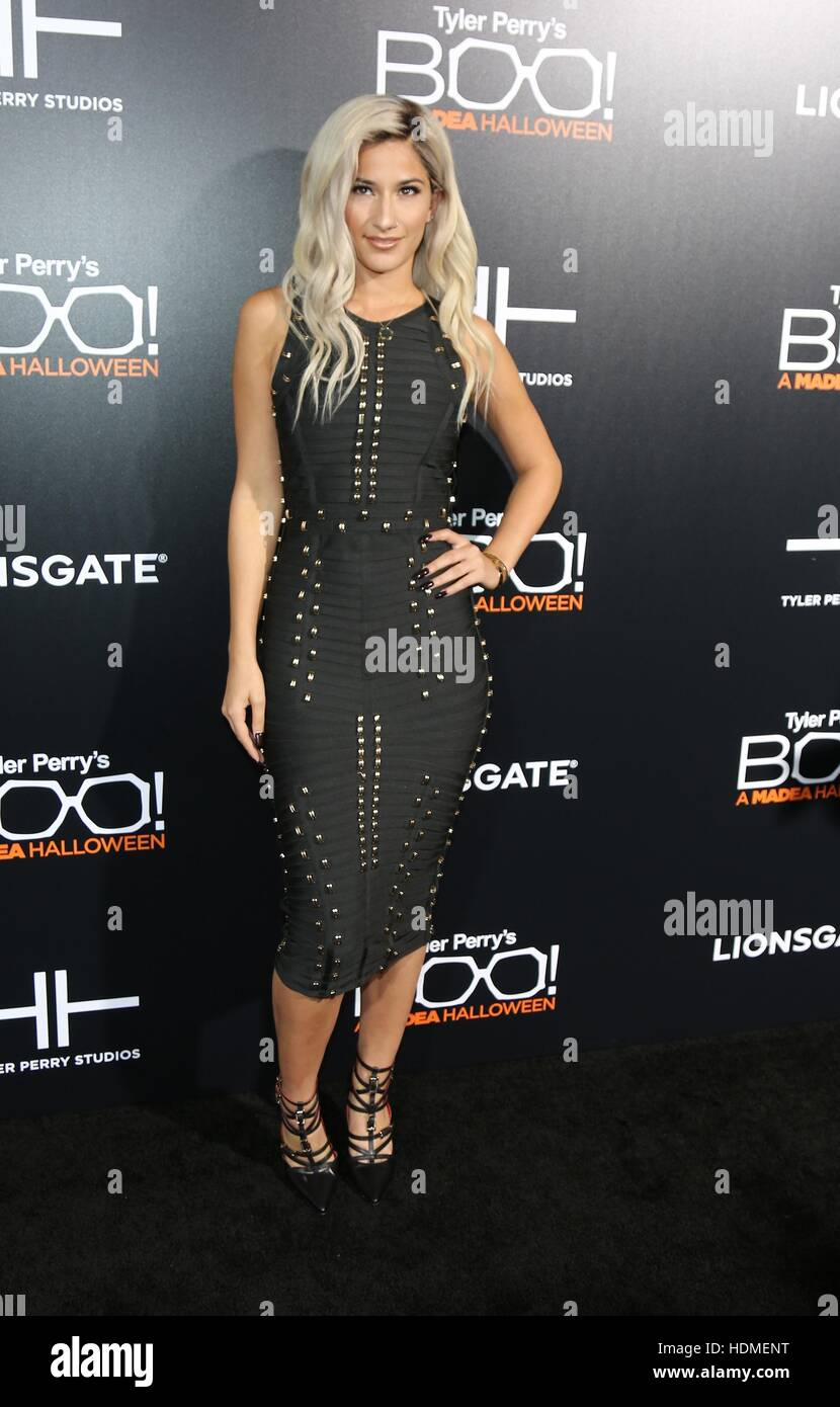 Lexy Panterra attending the premiere of 'Boo! A Madea Halloween ...