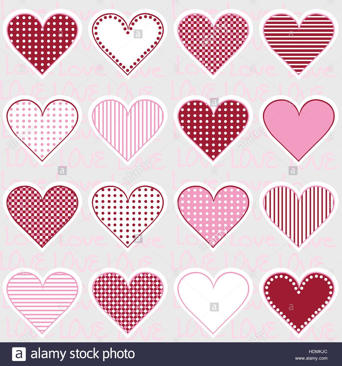 Love background with heart frames on pink pattern for baby girl love background with heart frames on pink pattern for baby girl jeuxipadfo Gallery