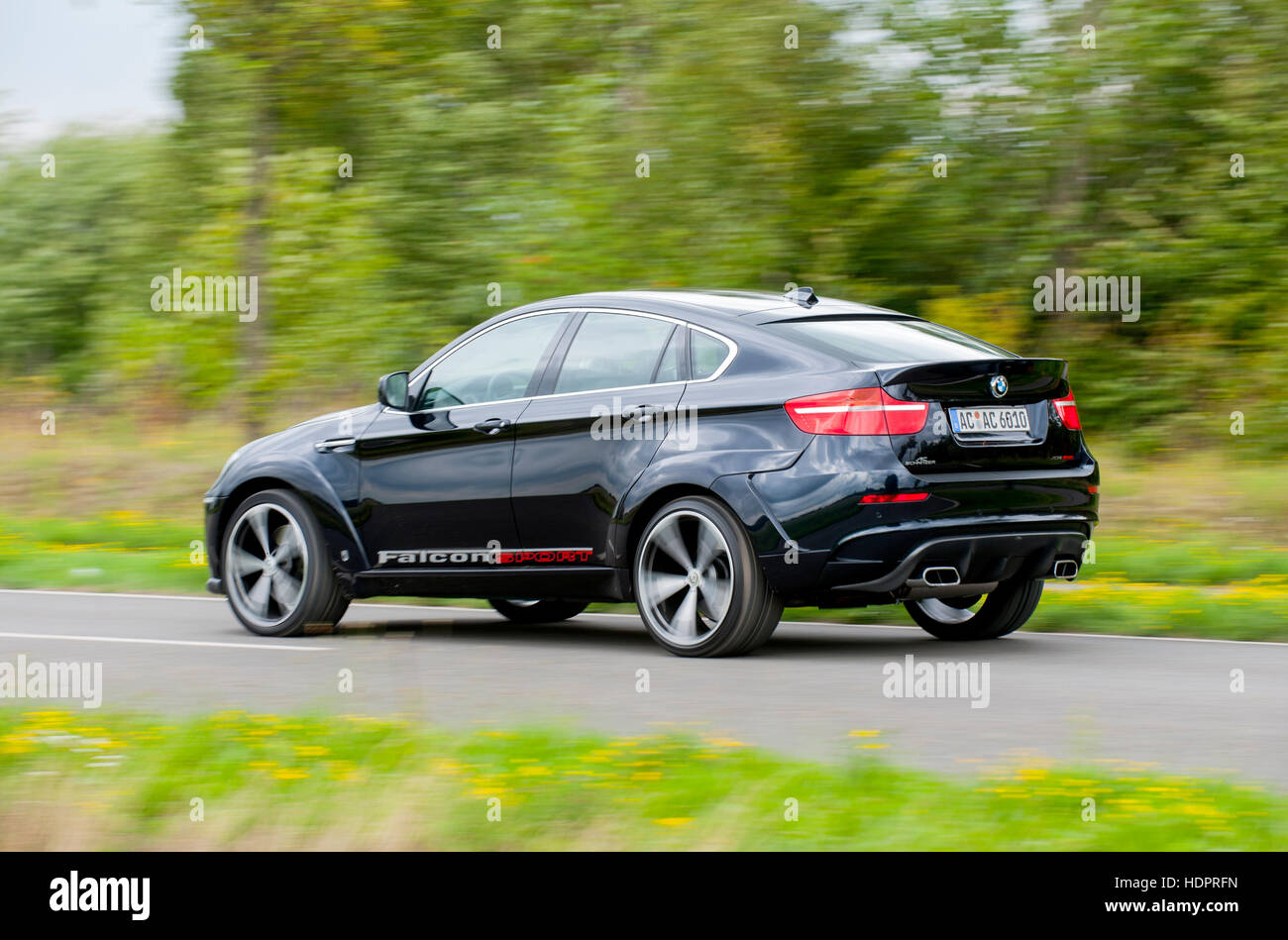 2009 ac schnitzer bmw x6 m high performance suv modified by authorised tuning house ac schnitzer