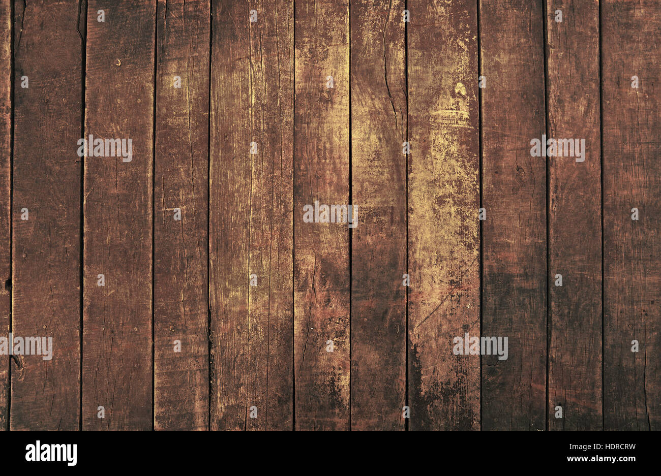 Old Vintage Aged Grunge Dark Brown Wooden Floor Planks Texture Background  With Stains And NailsOld Vintage