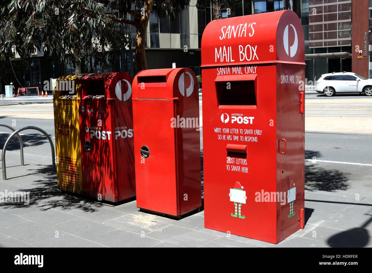 Santa mail box and australian post office mail box in melbourne santa mail box and australian post office mail box in melbourne victoria australia spiritdancerdesigns Choice Image