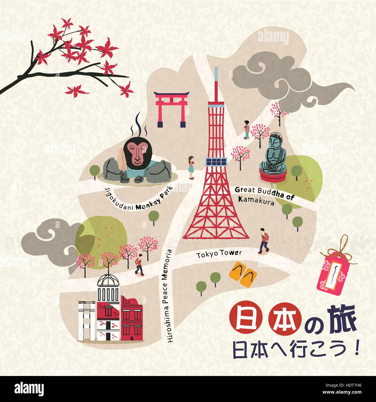 Lovely Japan Walking Map Japan Travel And Go To Japan In - Japan map hd