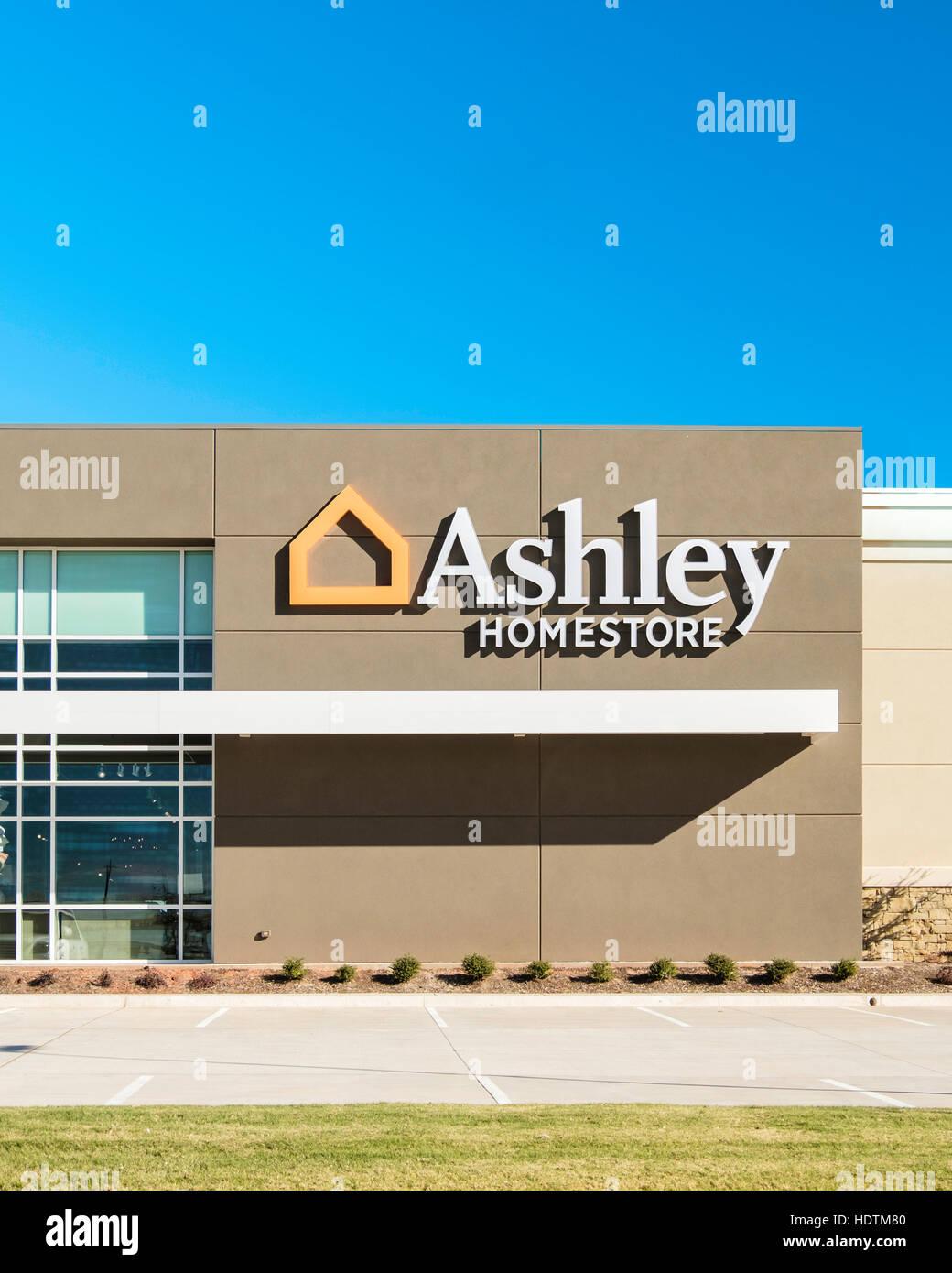 Ashley Homestore, A Decor And Furniture Store On Memorial Road In North Oklahoma  City, Oklahoma, USA