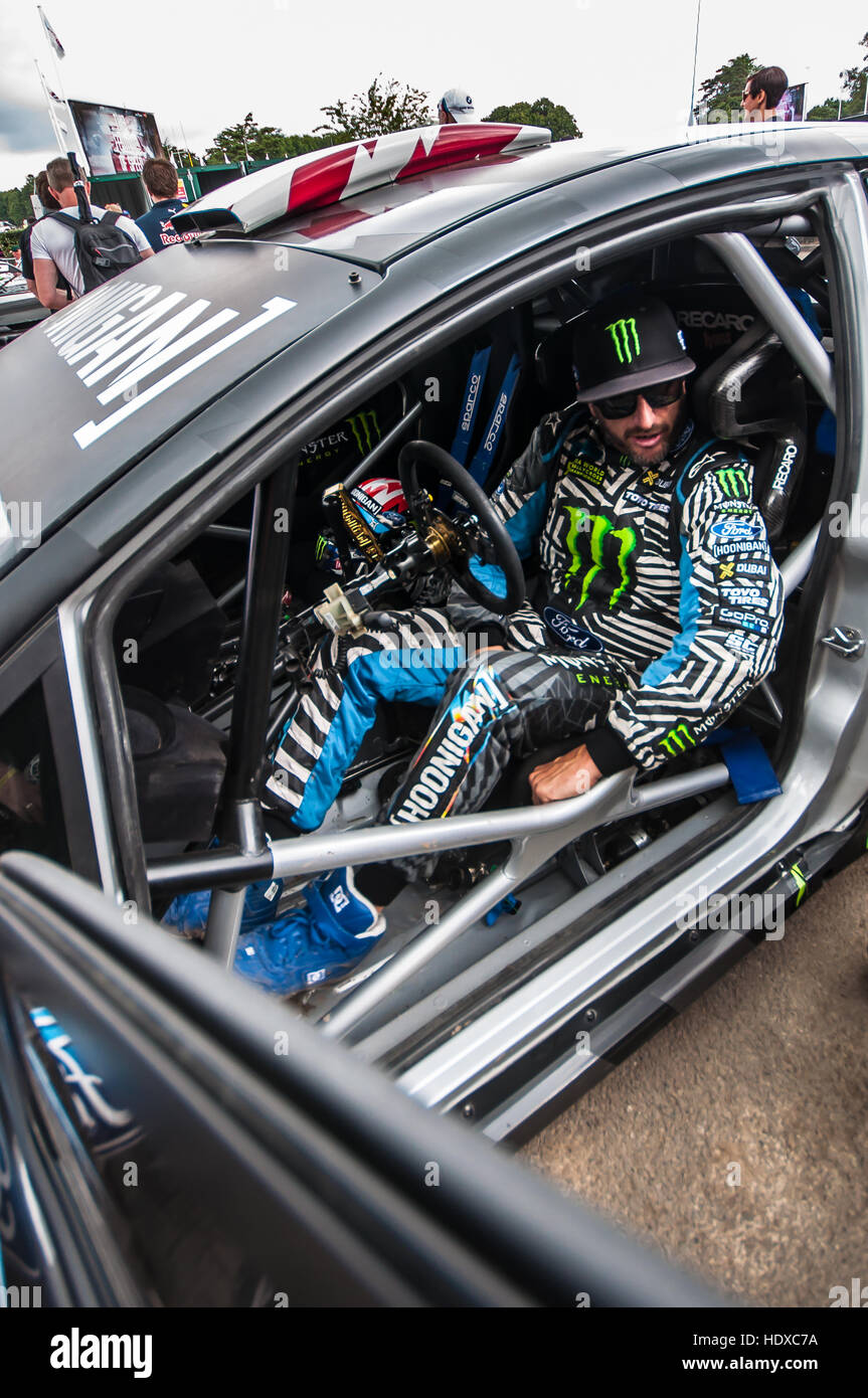 Ken Block is a professional rally driver with the Hoonigan Racing ...