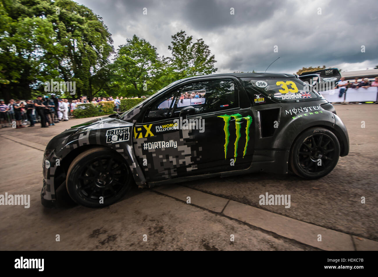 Ken Block Is A Professional Rally Driver With The Hoonigan Racing