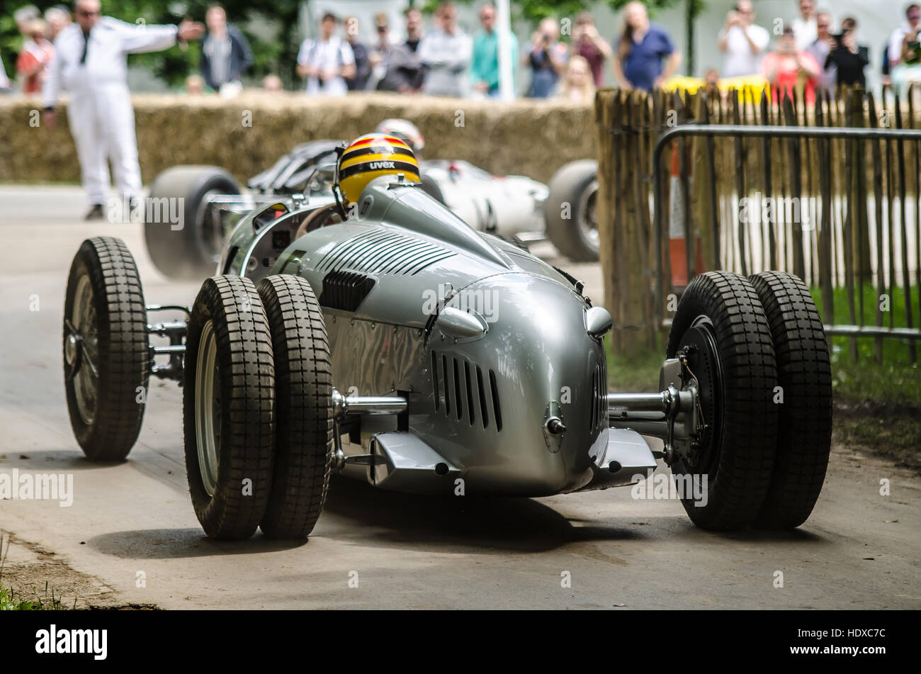 The Auto Union Grand Prix Racing Cars Types A To D Were Developed