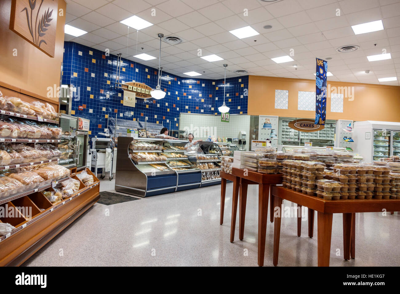 Fort Myers Florida Ft Publix Supermarket Grocery Store Interior Food Bakery