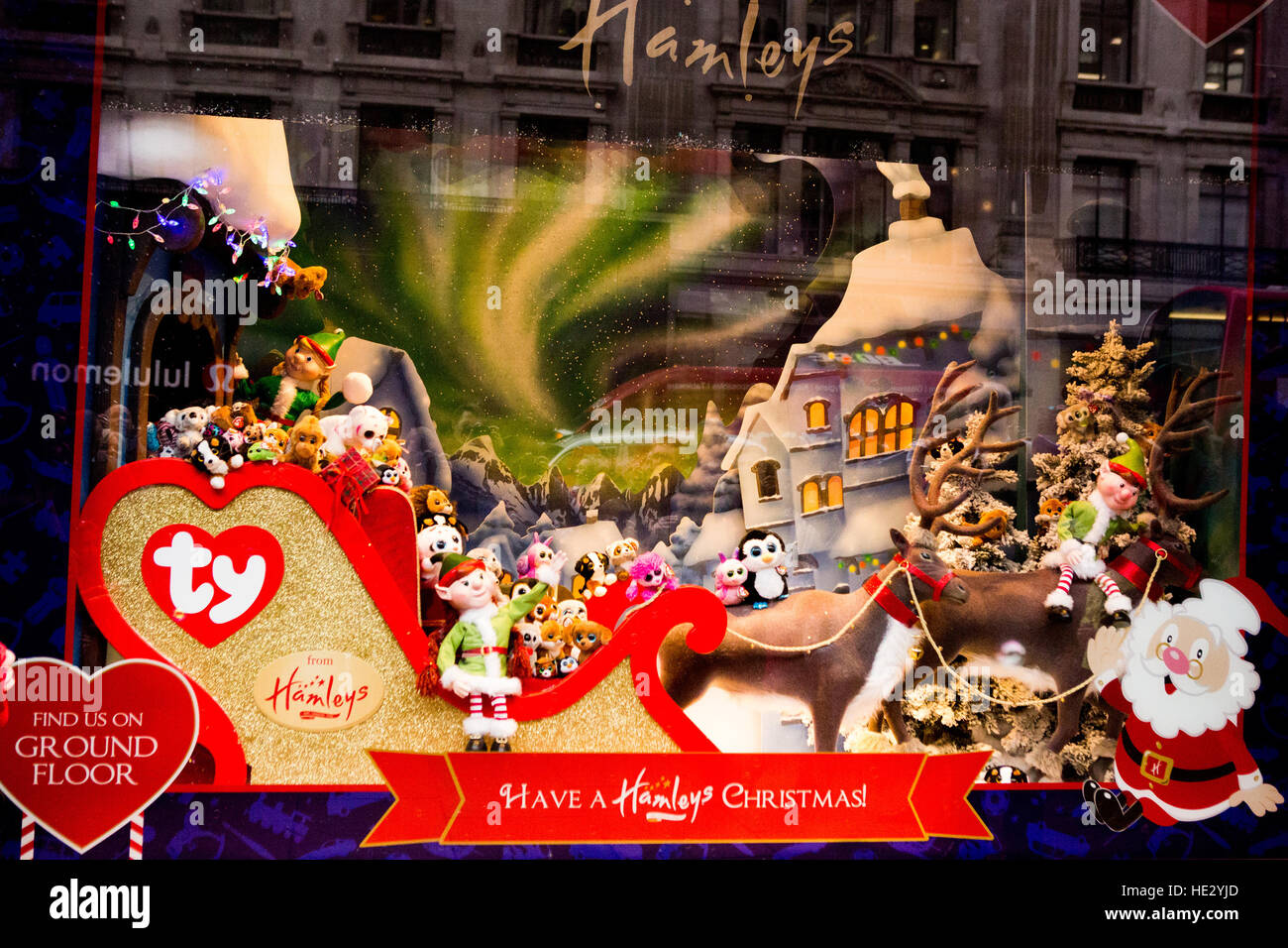 Hamleys unveil their 2016 Christmas windows, supported by the cast ...