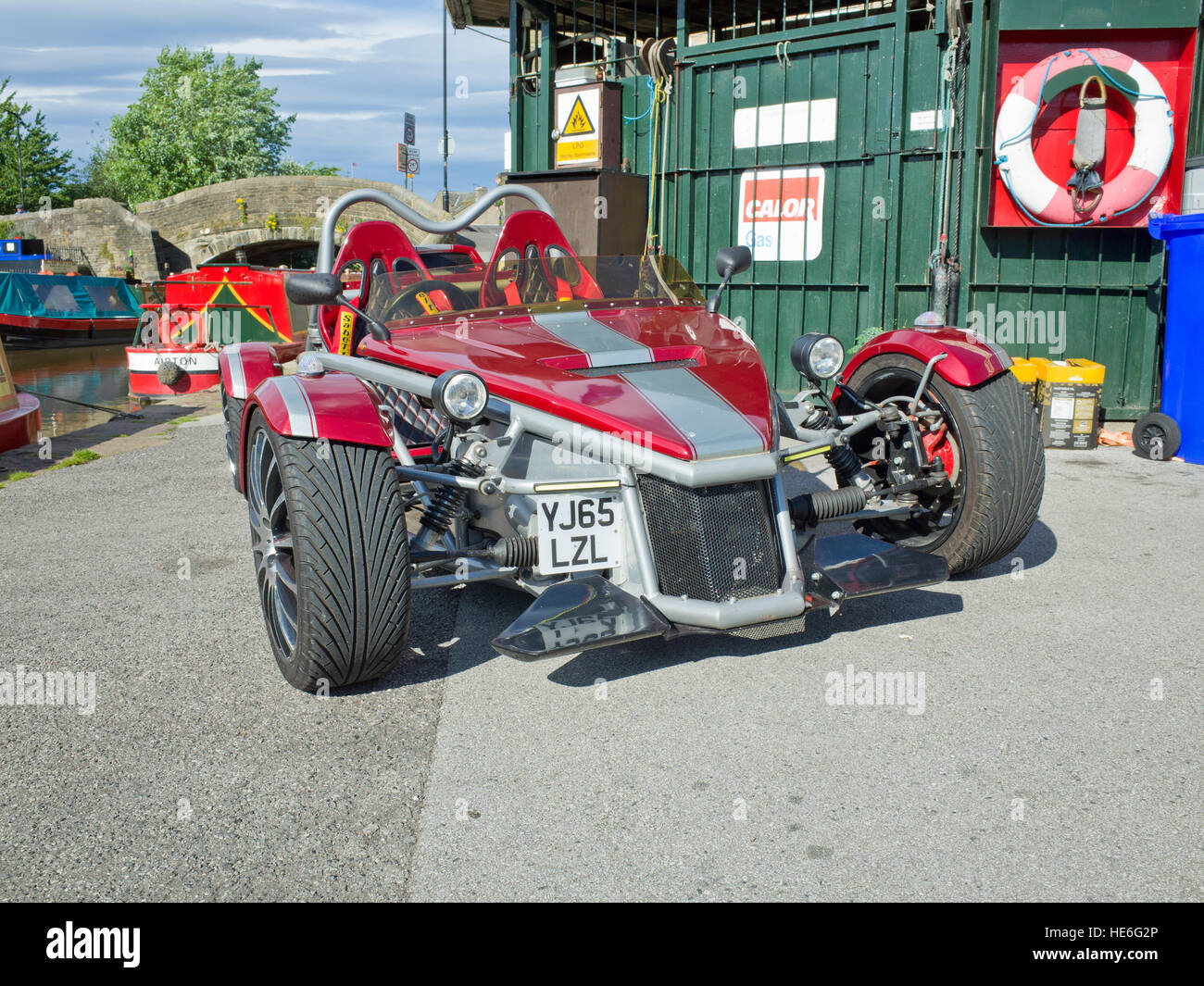 Rtr Mev Rocket Roadster Kit Car Based On Ford Focus Stock Photo