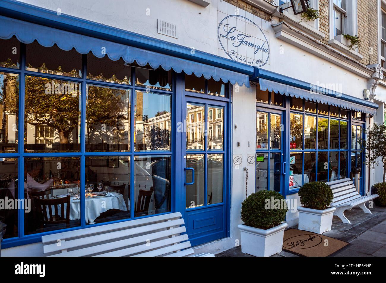 La Famiglia Restaurant Chelsea