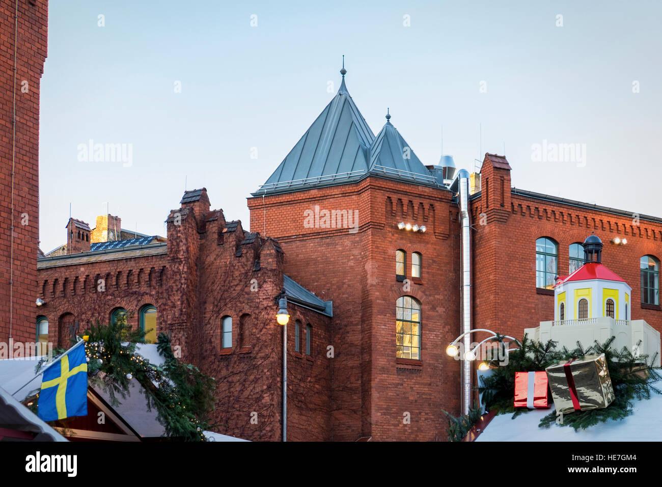 berlin christmas market stalls at old brewery german. Black Bedroom Furniture Sets. Home Design Ideas