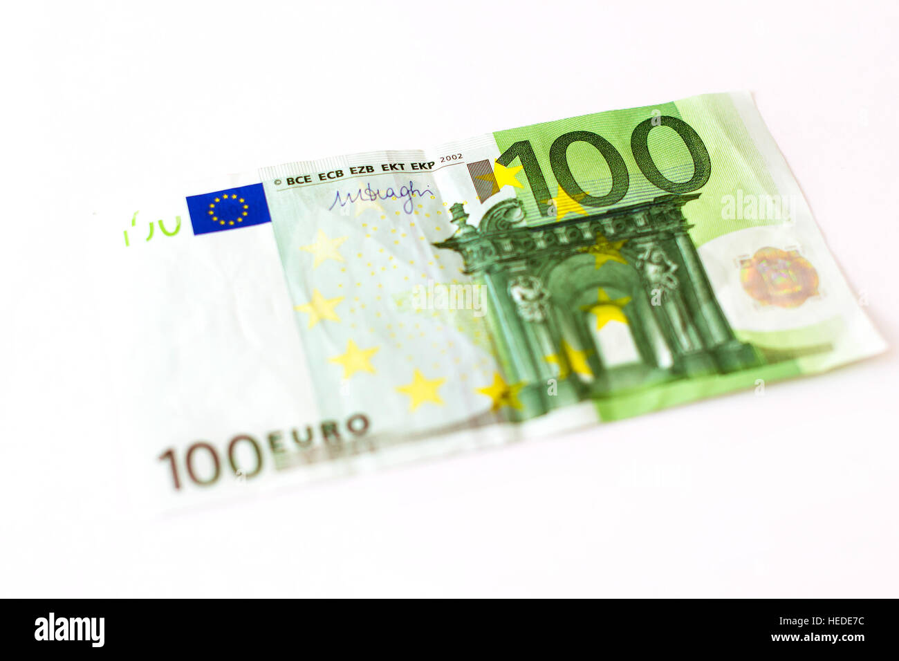 Euro banknotes are in denominations of 100 euros symbol of euro banknotes are in denominations of 100 euros symbol of european currency to wealth and investment money of european union selective focus blur buycottarizona