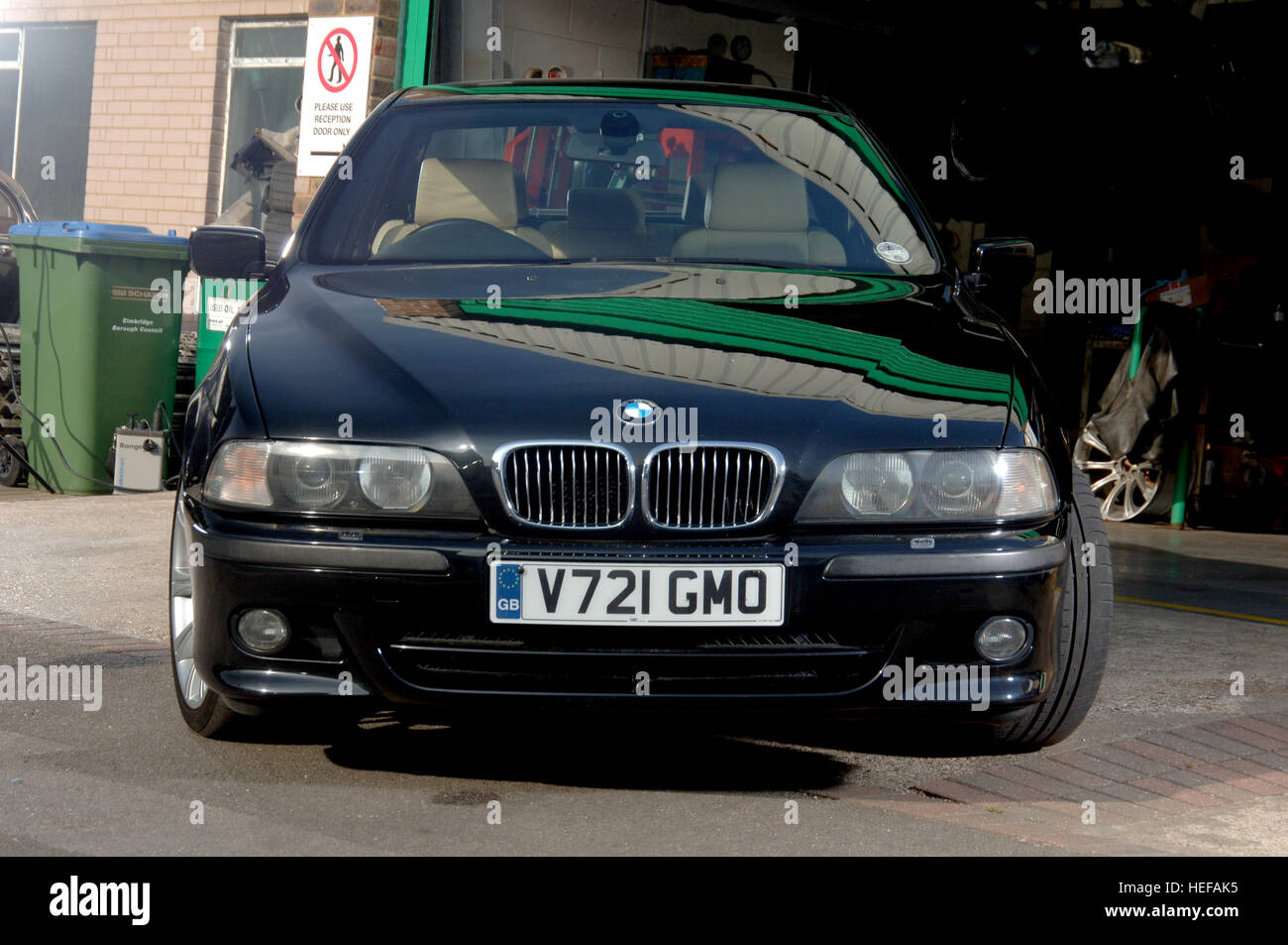 1989 BMW E39 5 Series saloon young timer modern classic car Stock ...