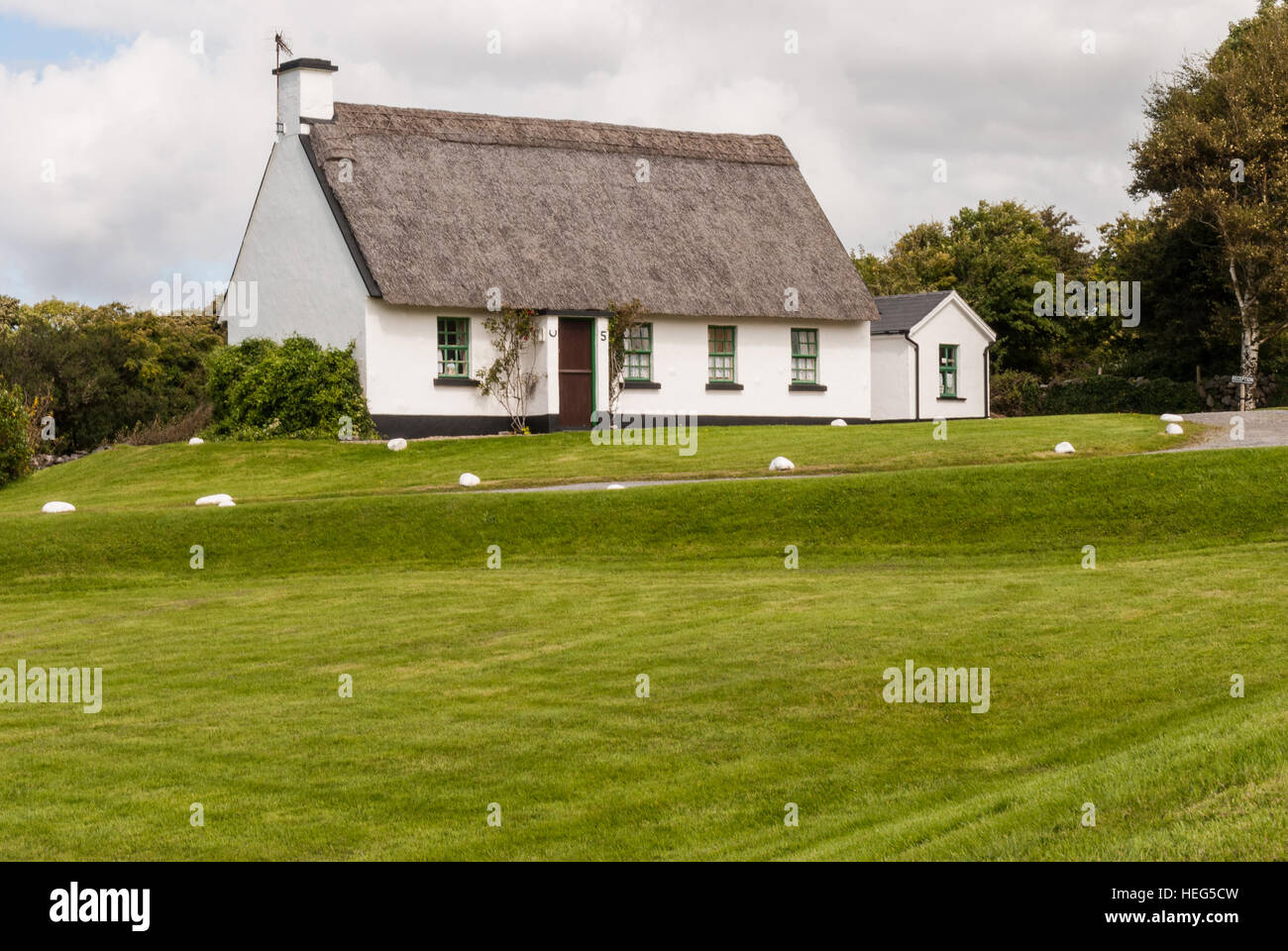 Traditional Irish House Stock Photo Royalty Free Image