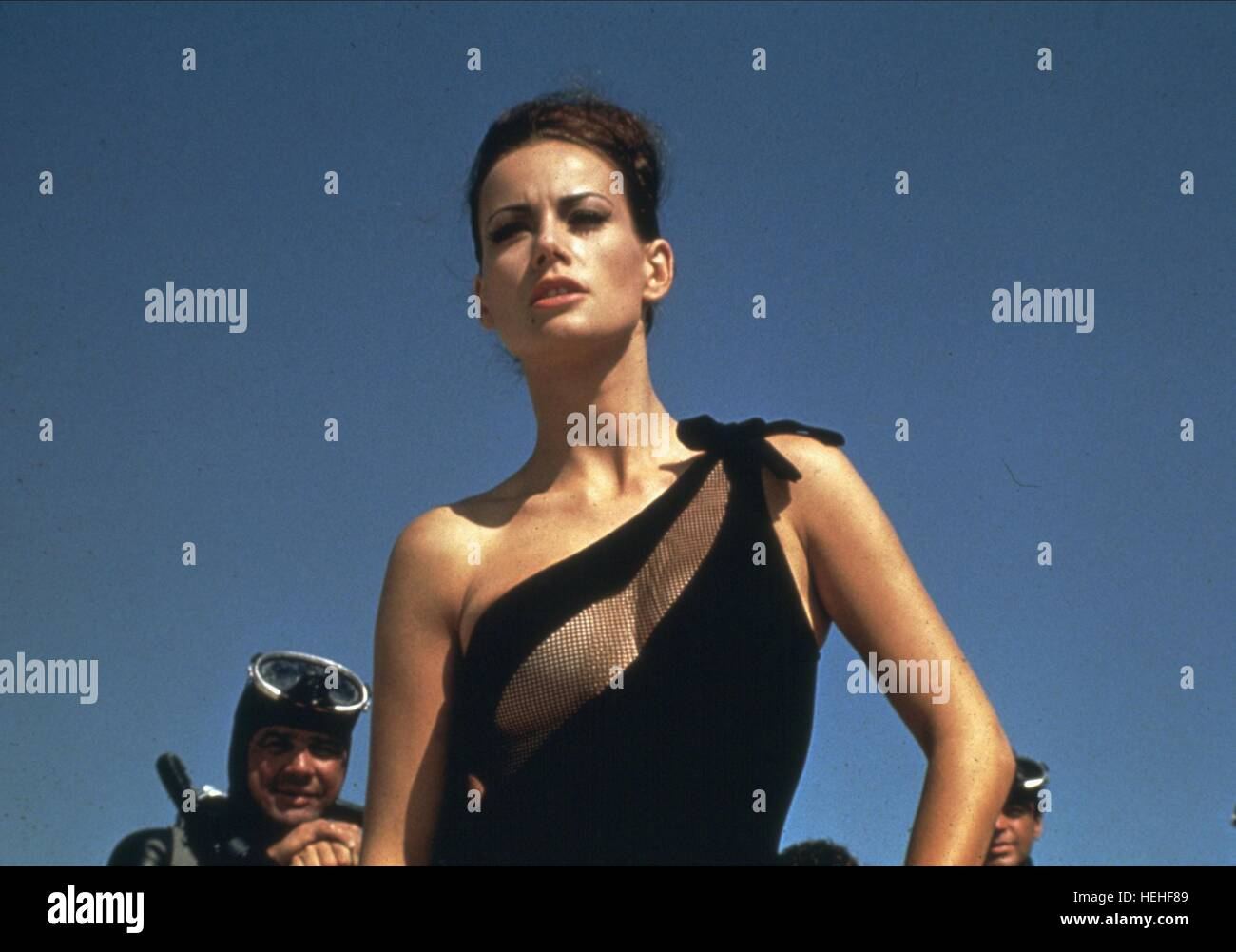 claudine auger james bond thunderball 1965 stock photo