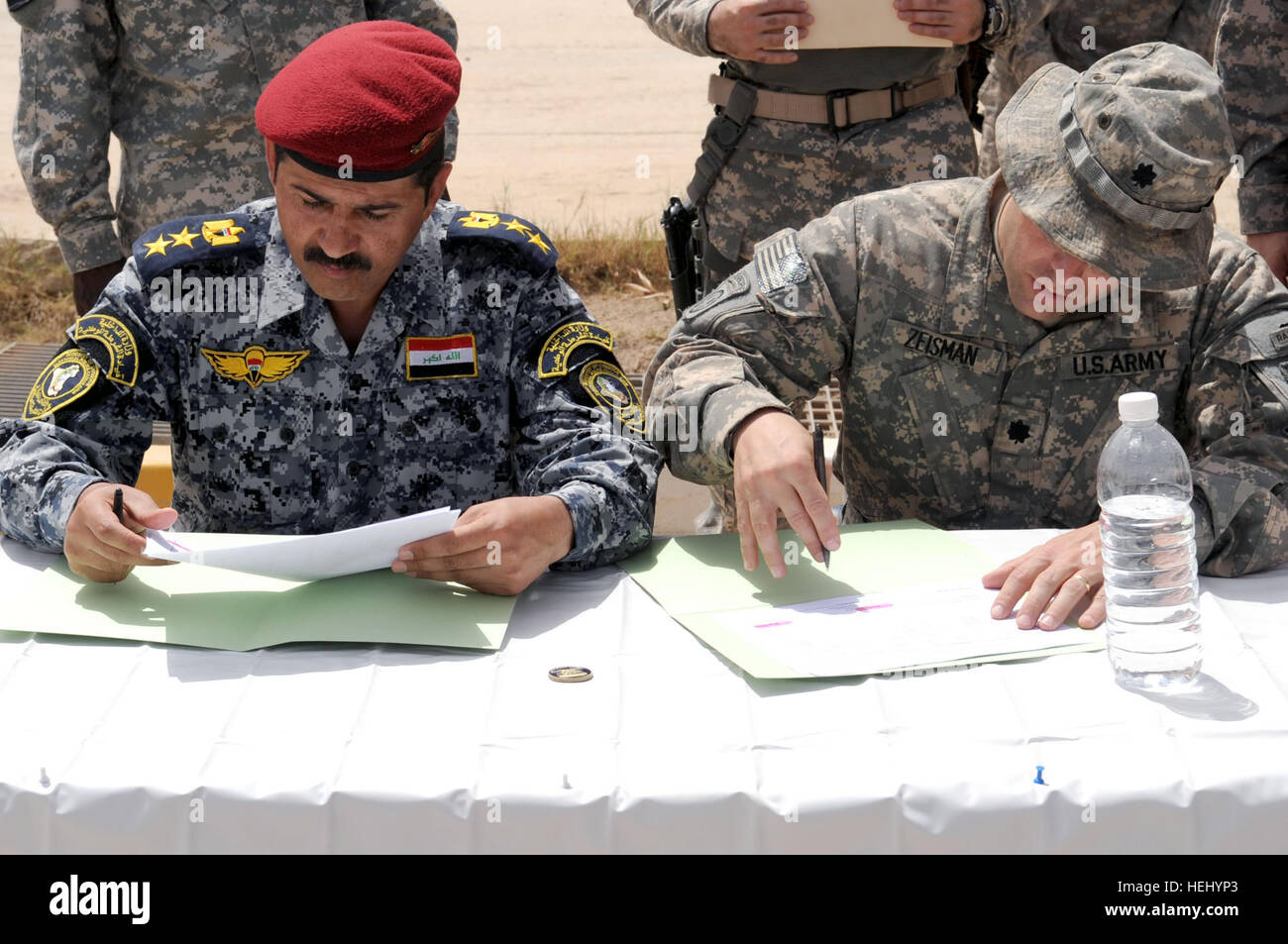 Army color casing ceremony script - Iraqi National Police Col Salih Commander Of 2nd Battalion 8th Brigade 2nd
